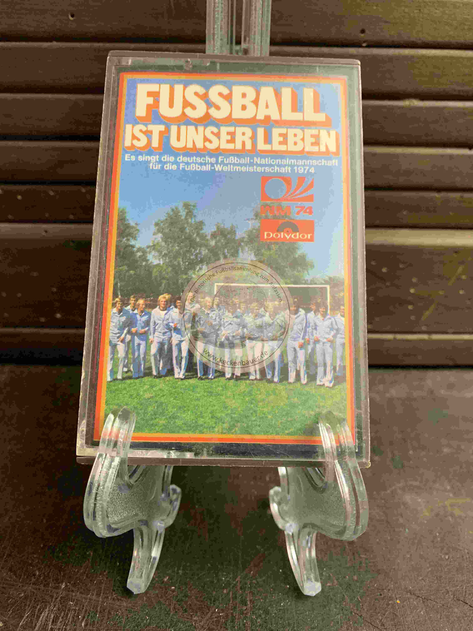1974 Fussball ist unser Leben Kassette