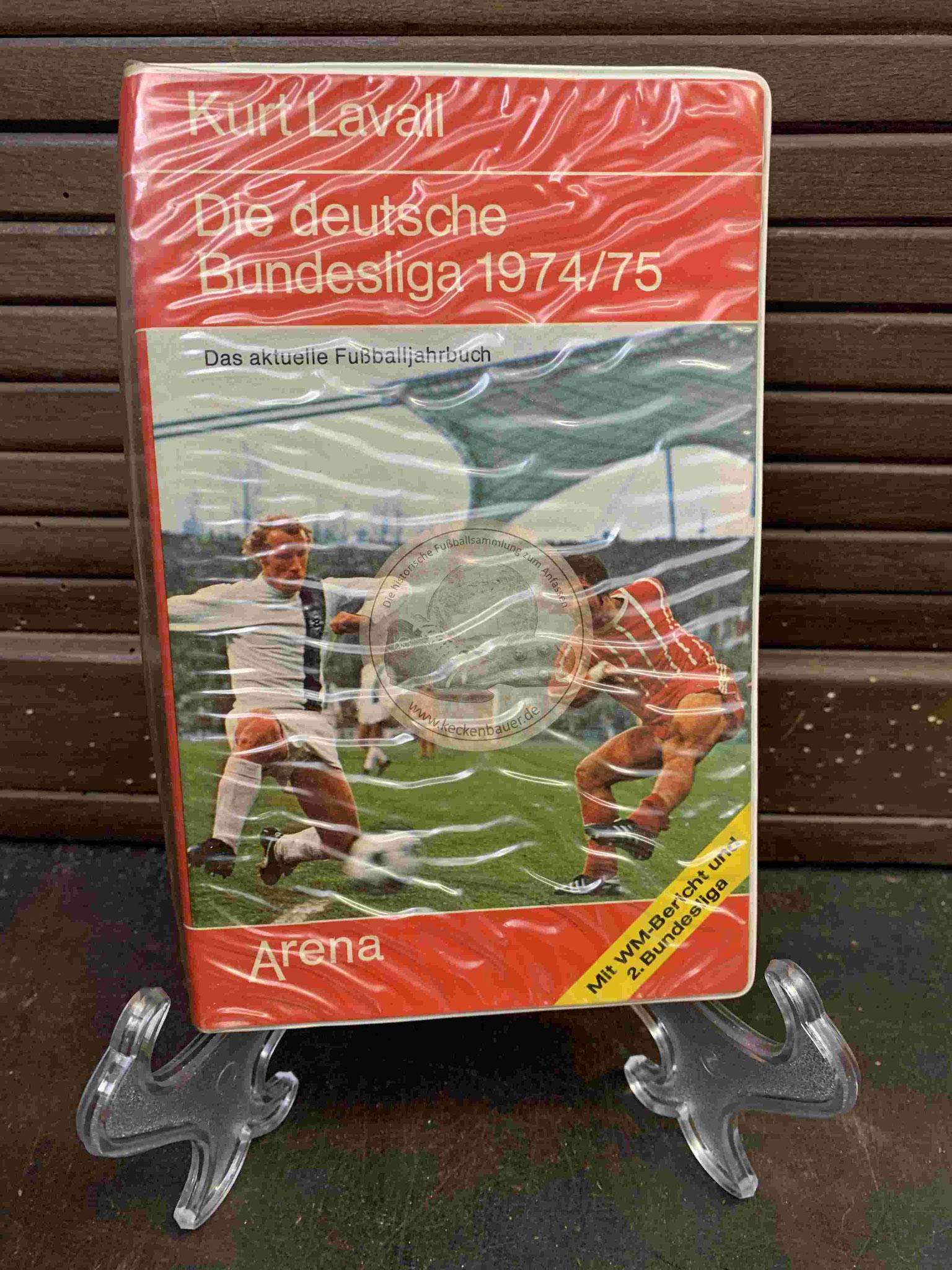 Kurt Laval Die deutsche Bundesliga 1974/75