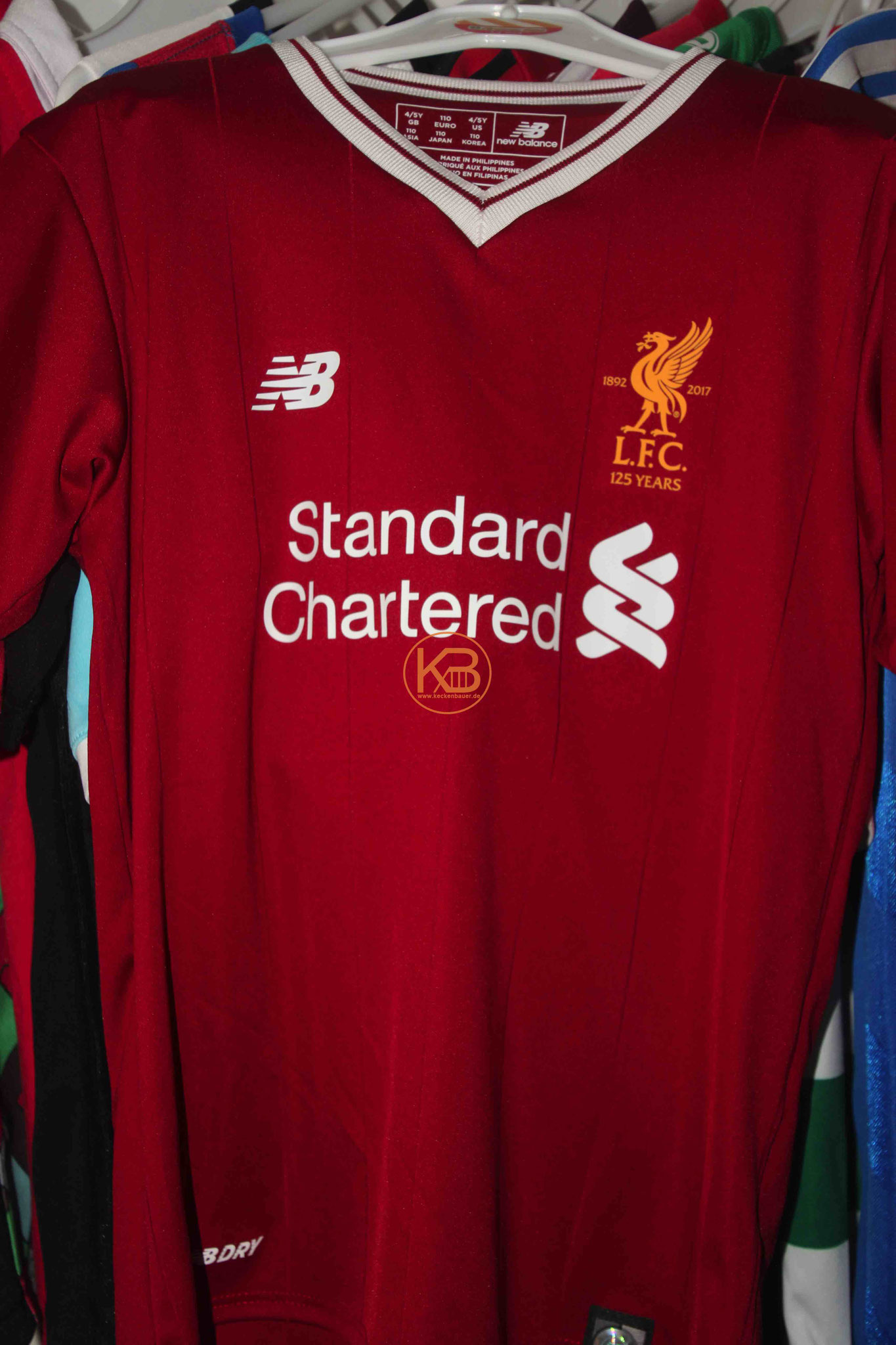 New Balance Trikot vom Liverpool FC