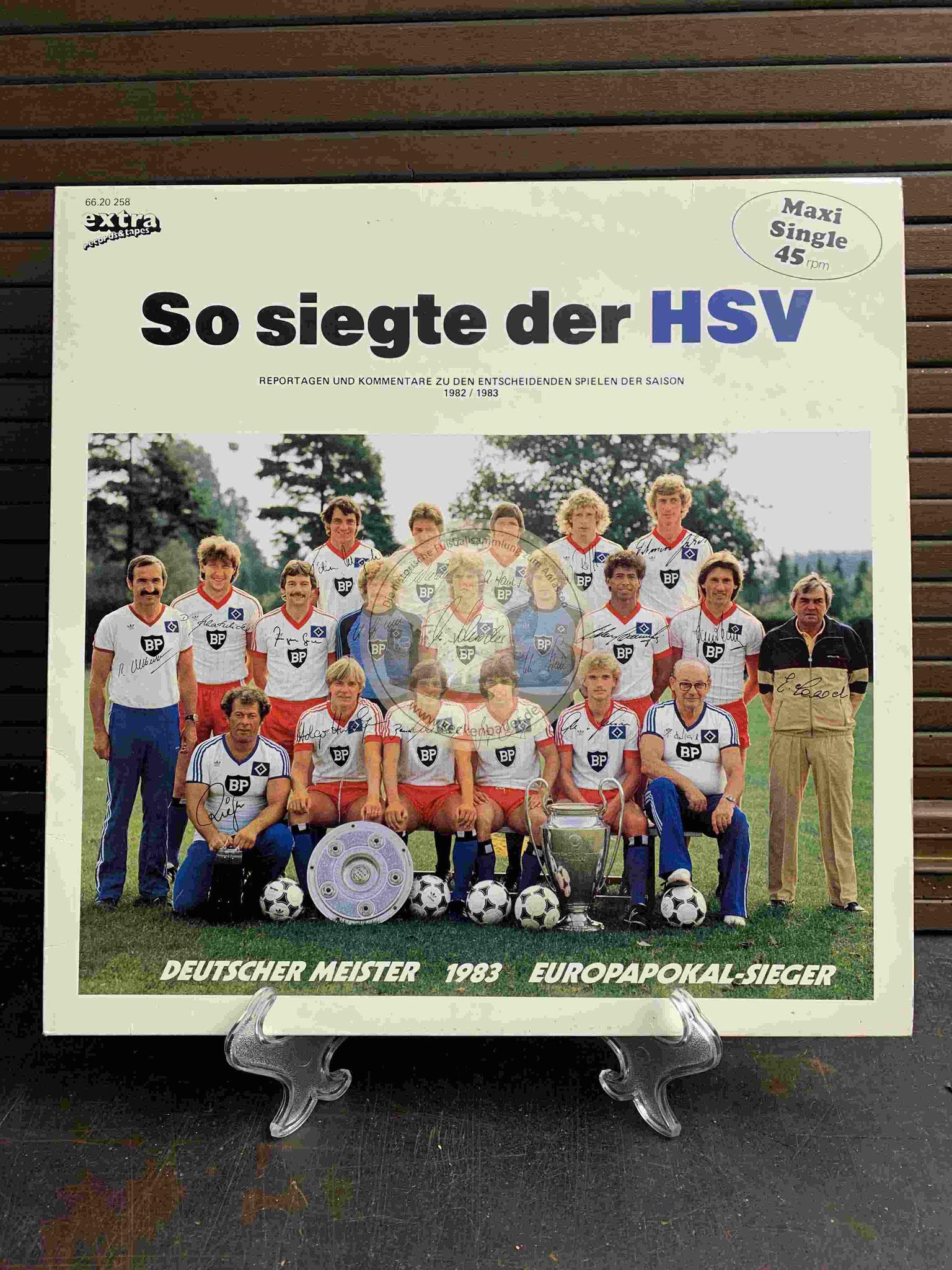 1983 So siegte der HSV