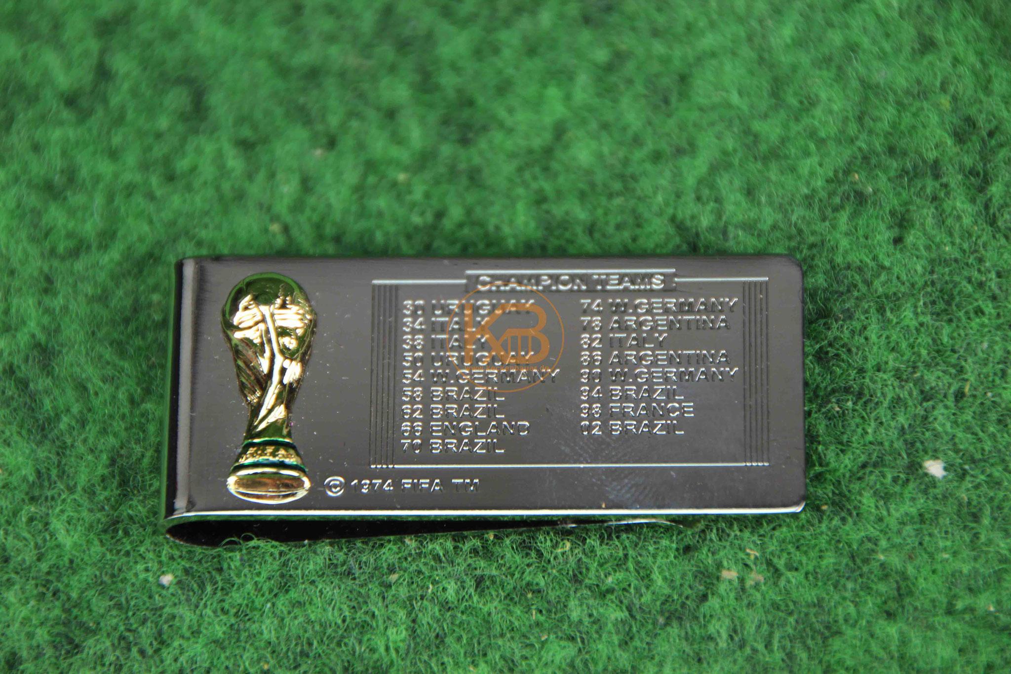 WM 2006 Armbanduhr und Geldklammer in der Original-Schatulle 2/2