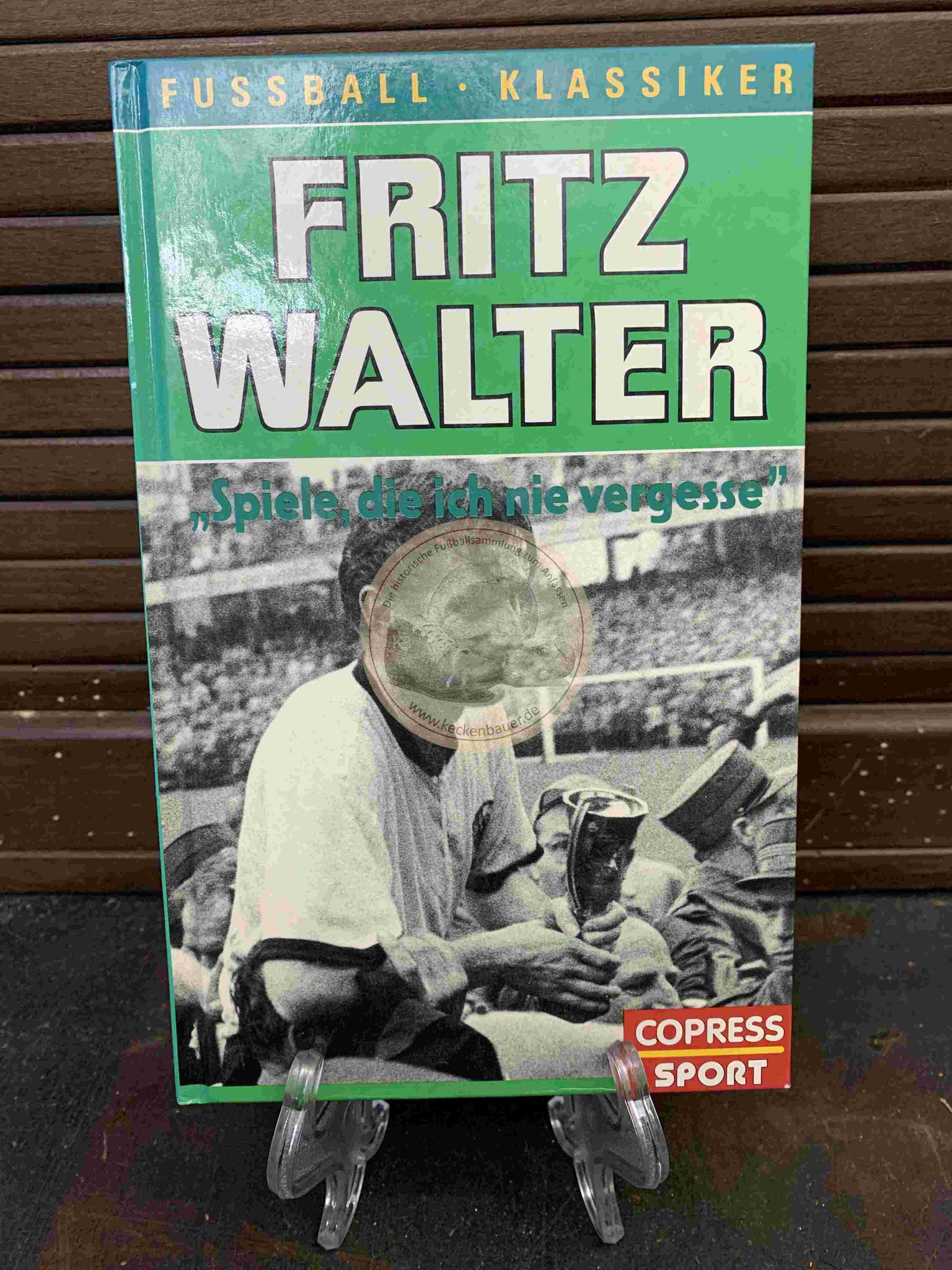 Fritz Walter Spiele die ich nie vergesse aus dem Jahr 1968, hier die Neuauflage 1991