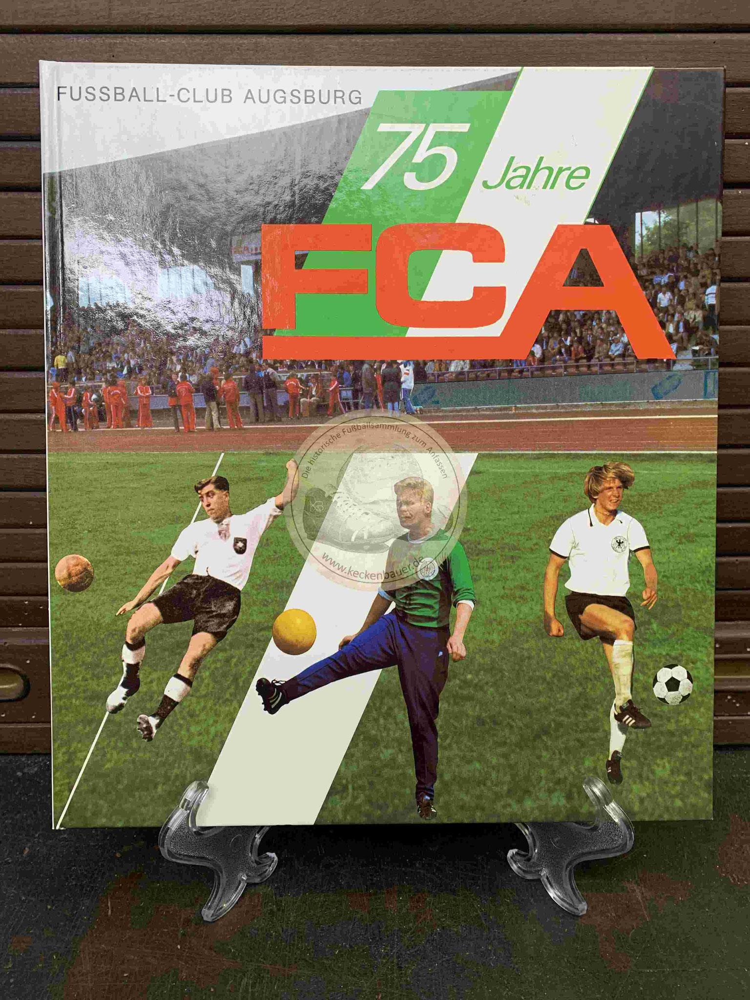 75 Jahre FC Augsburg aus dem Jahr 1982