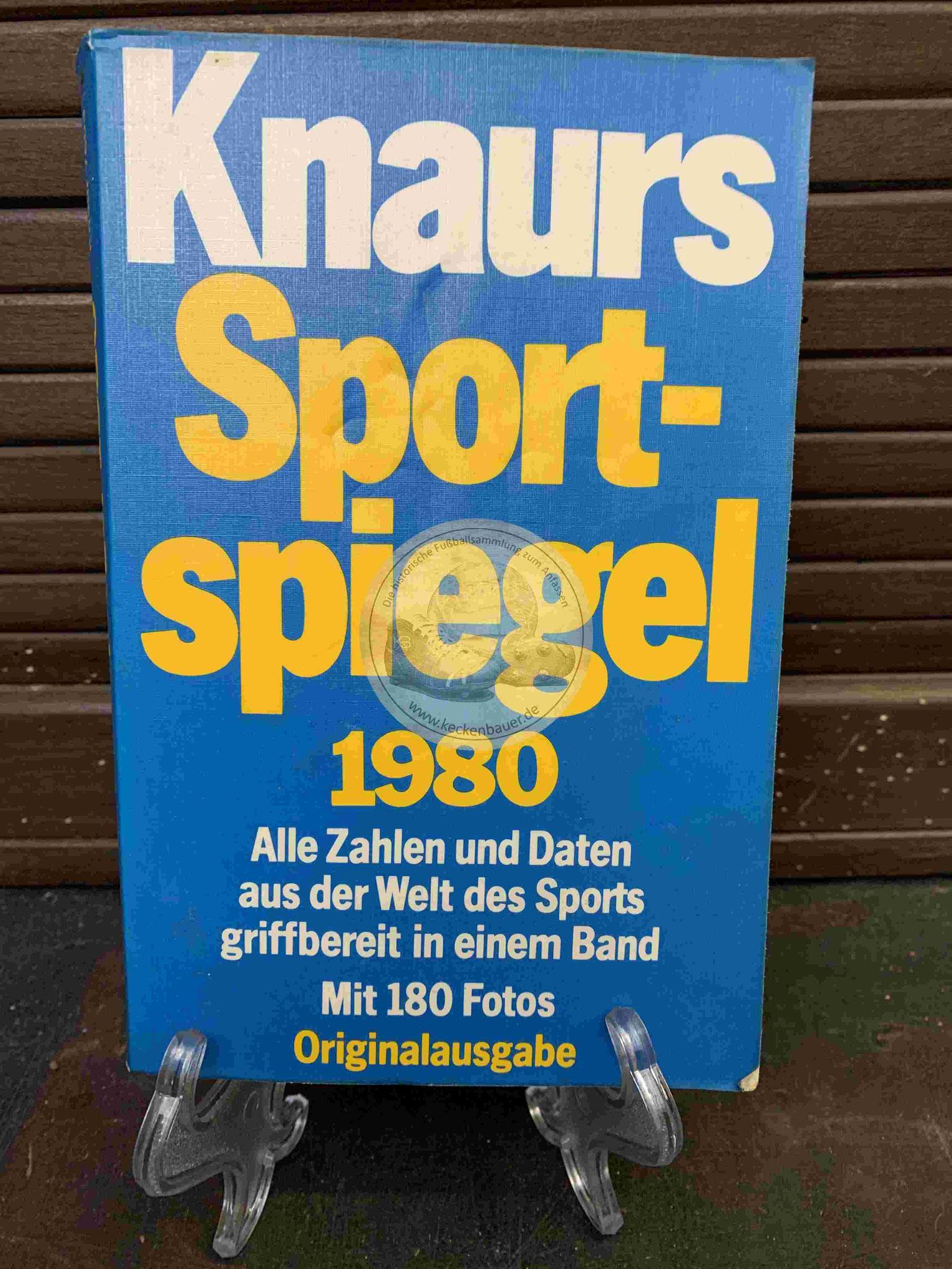 Knaurs Sport Spielgel 1980