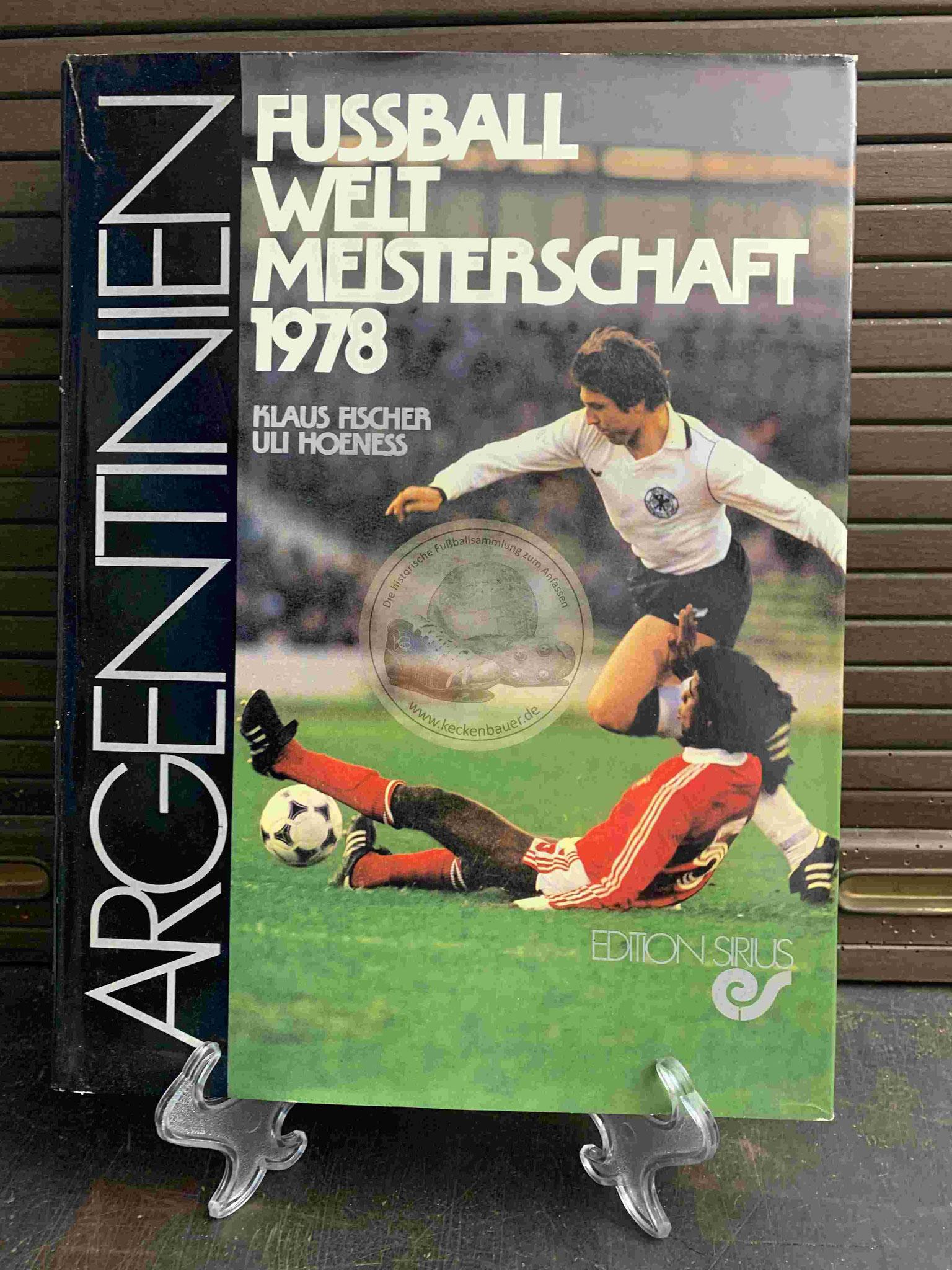 Klaus Fischer und Uli Hoeneß Fußball Weltmeisterschaft 1978