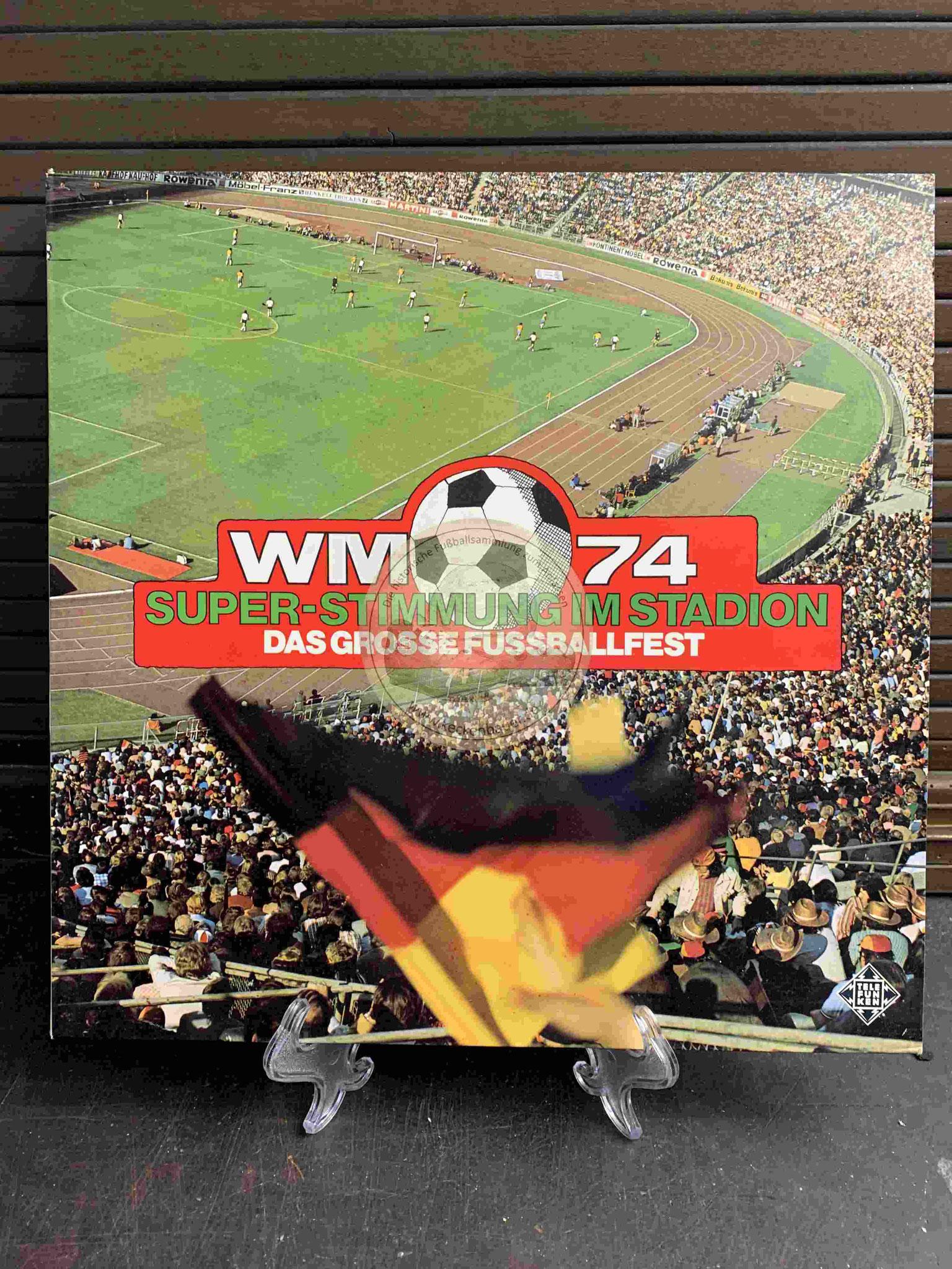 1983 WM 74 Super Stimmung im Stadion