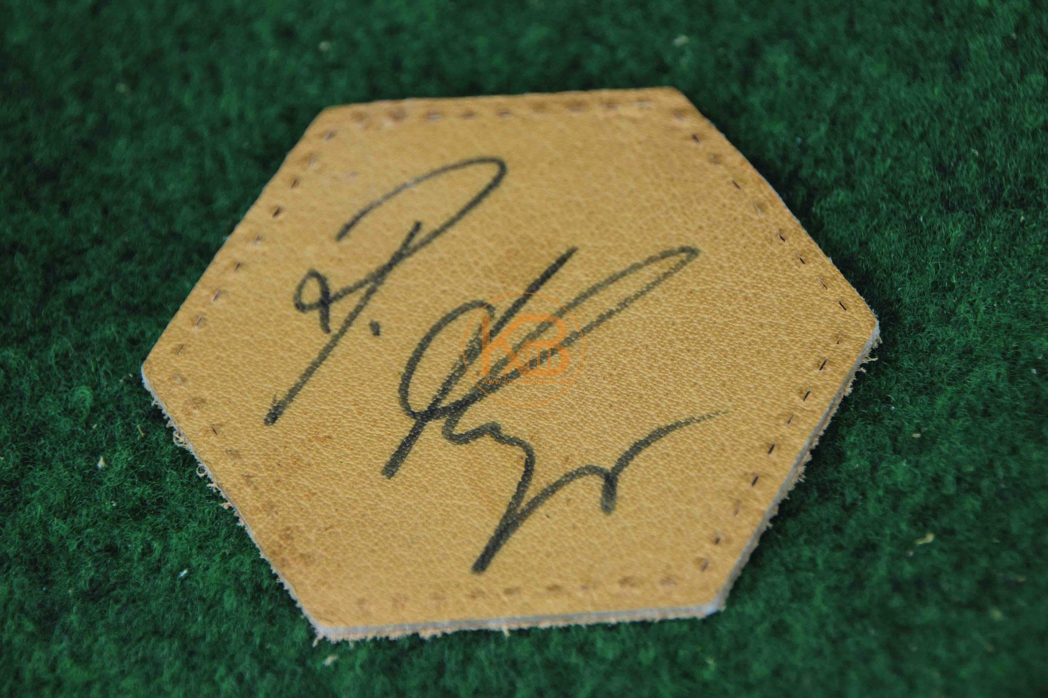 "Original Autogramm von Hans Hubert ""Berti"" Vogts"