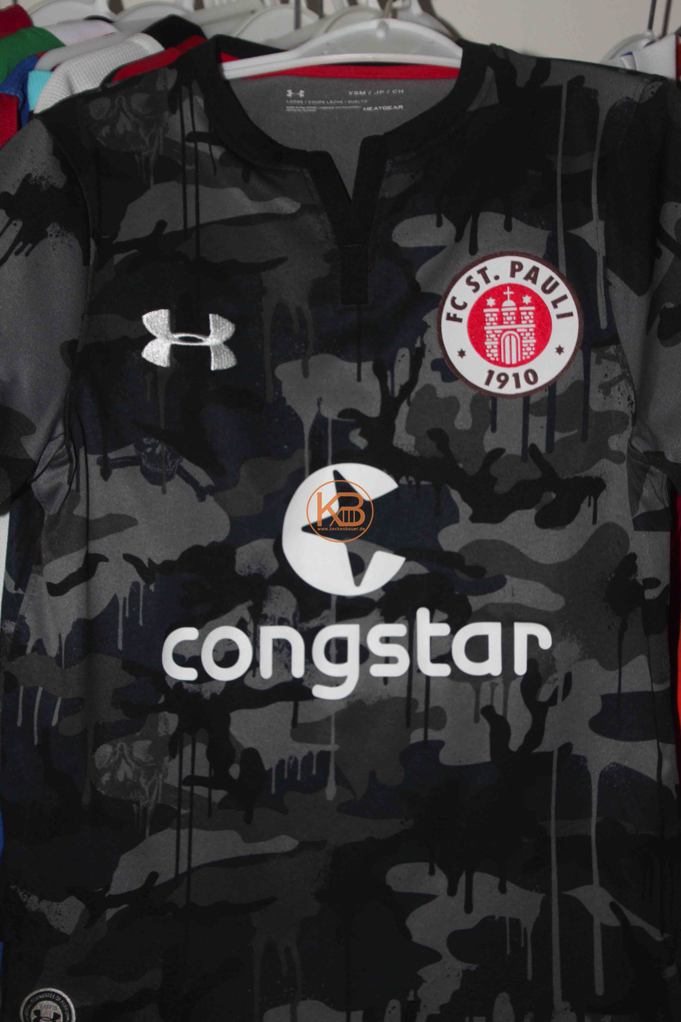 Under Armour Trikot vom FC St. Pauli