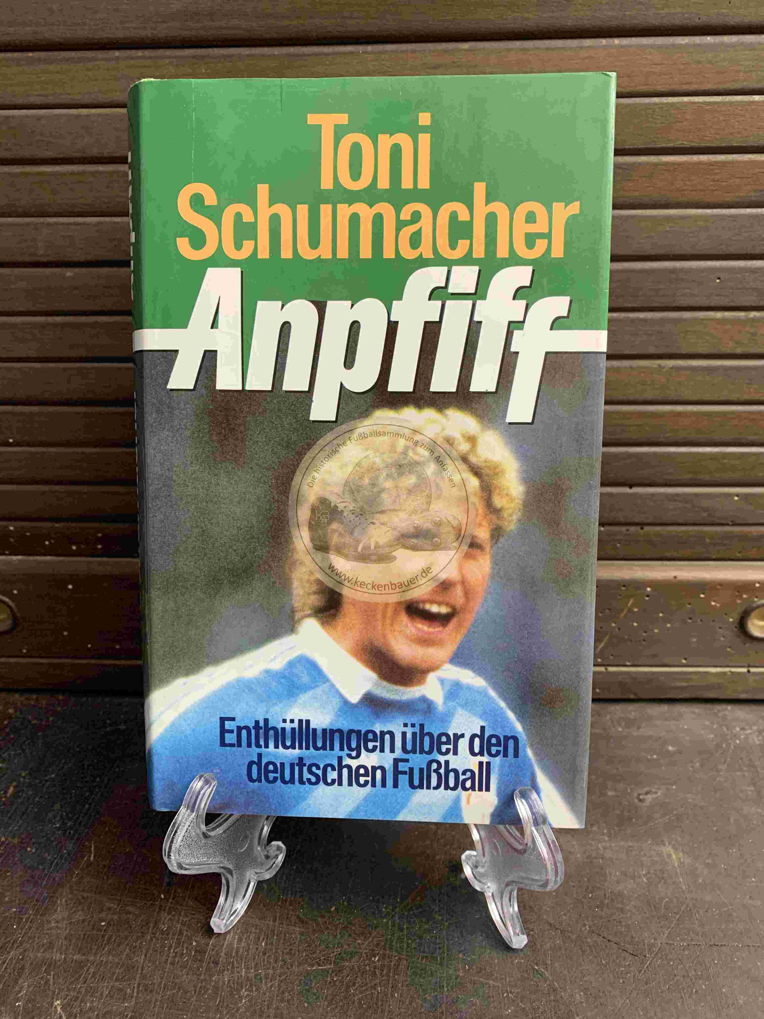 Toni Schumacher Anpfiff aus dem Jahr 1987