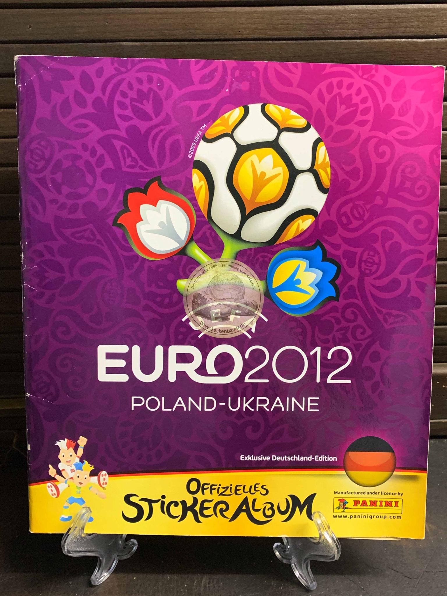 Panini Album von der EM 2012 in Polen un der Ukraine