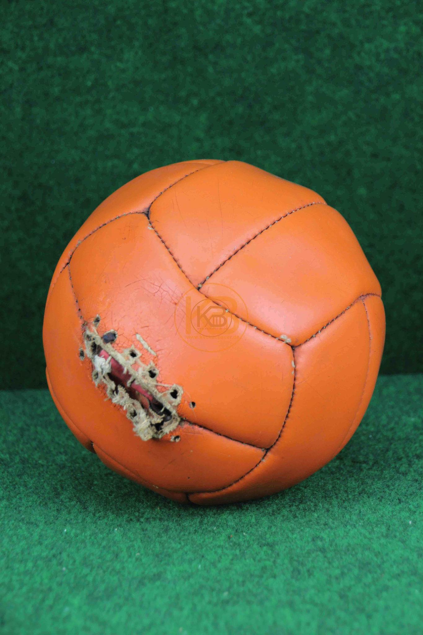 Alter Fußball aus den 1960ern