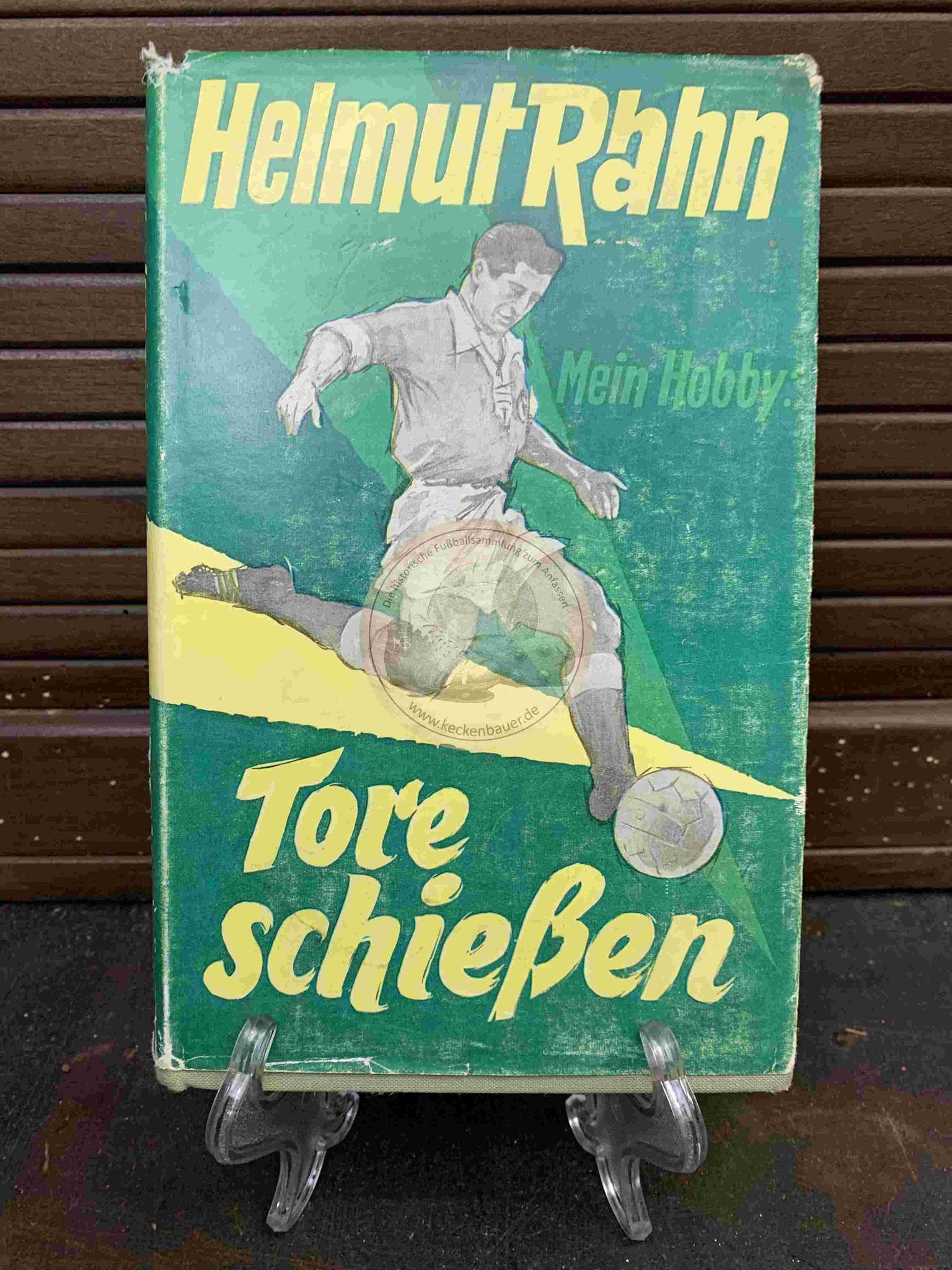 Helmut Rahn Mein Hobby Tore schießen aus dem Jahr 1959