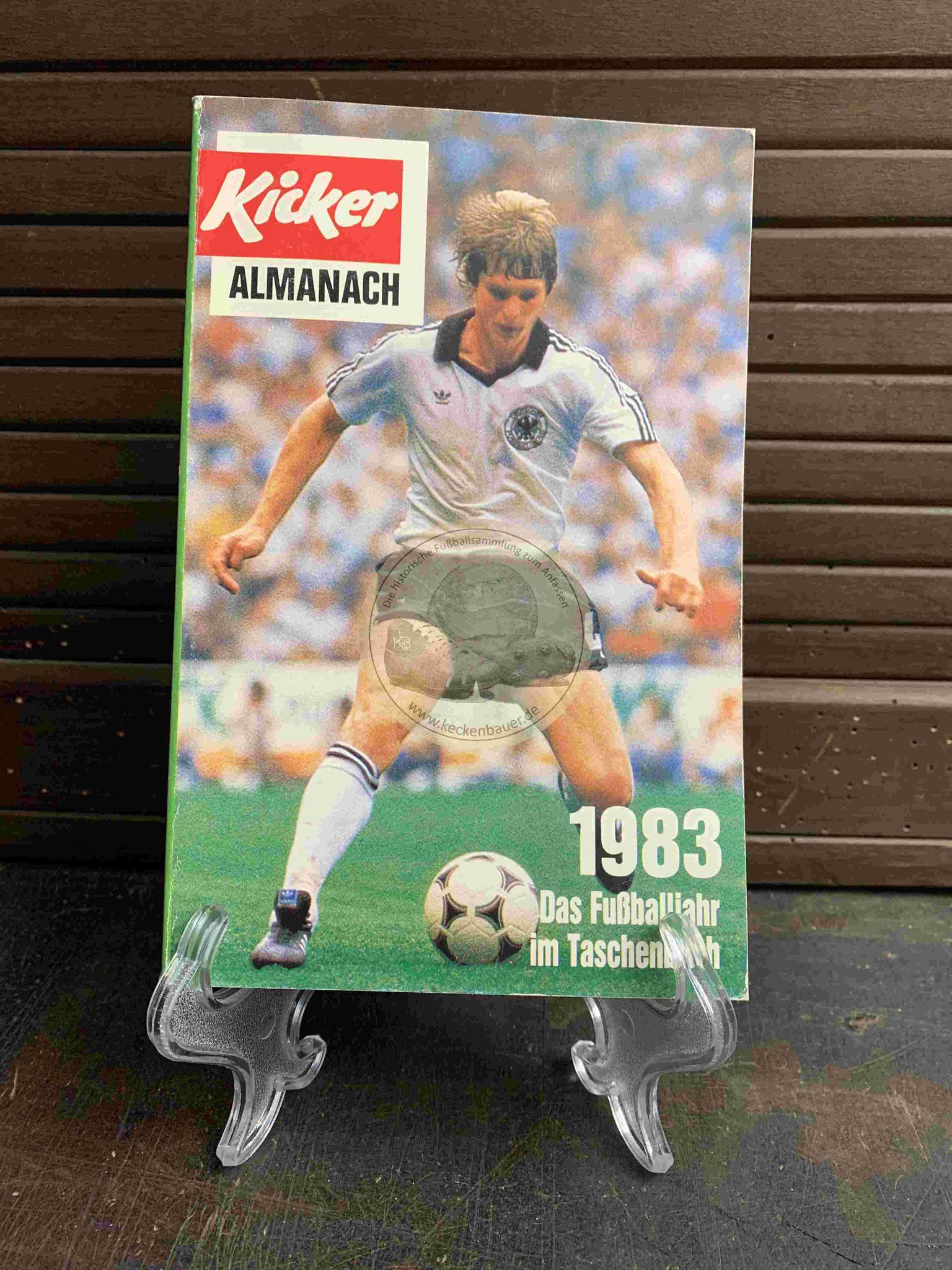 Kicker Almanach aus dem Jahr 1983