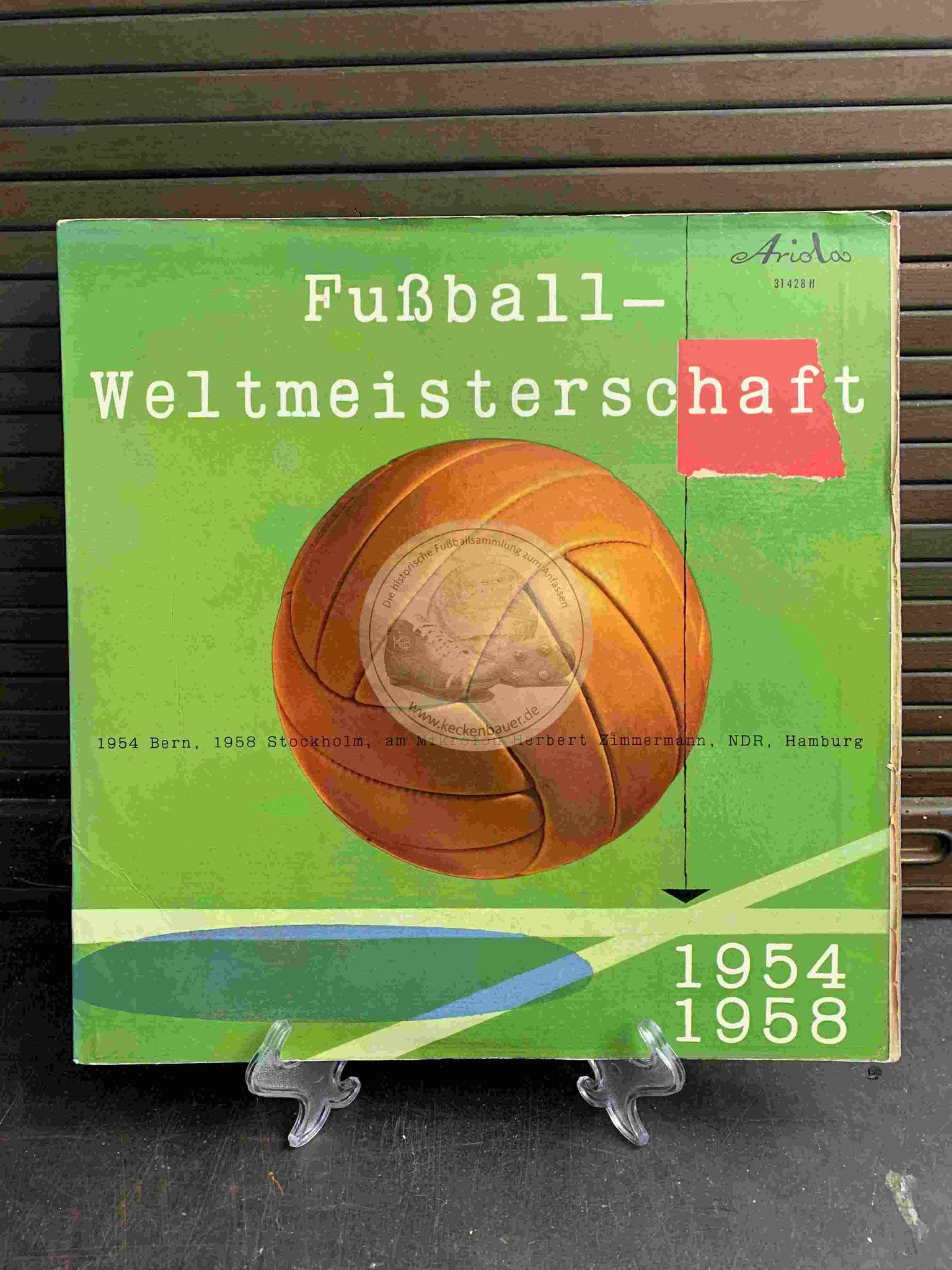 1958 Fussball Weltmeisterschaft 1954/1958