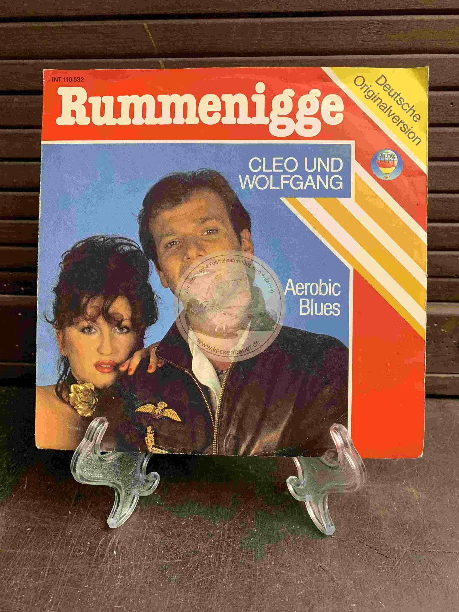 1983 Fußball-Single Rummenigge von Cleo und Wolfgang Deutsche Version