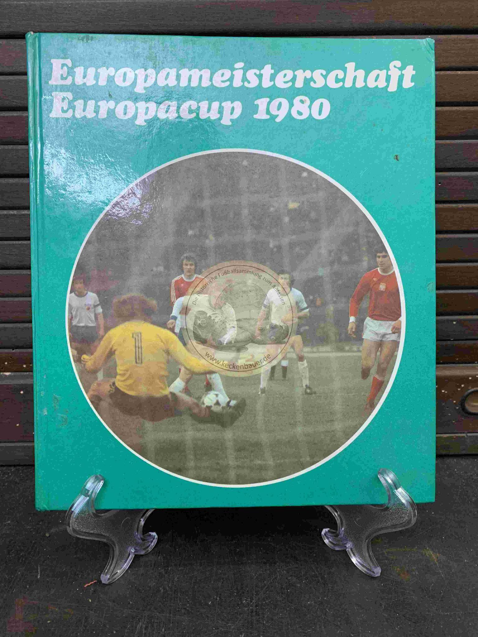 Europameisterschaft Europacup 1980 aus dem Jahr 1981