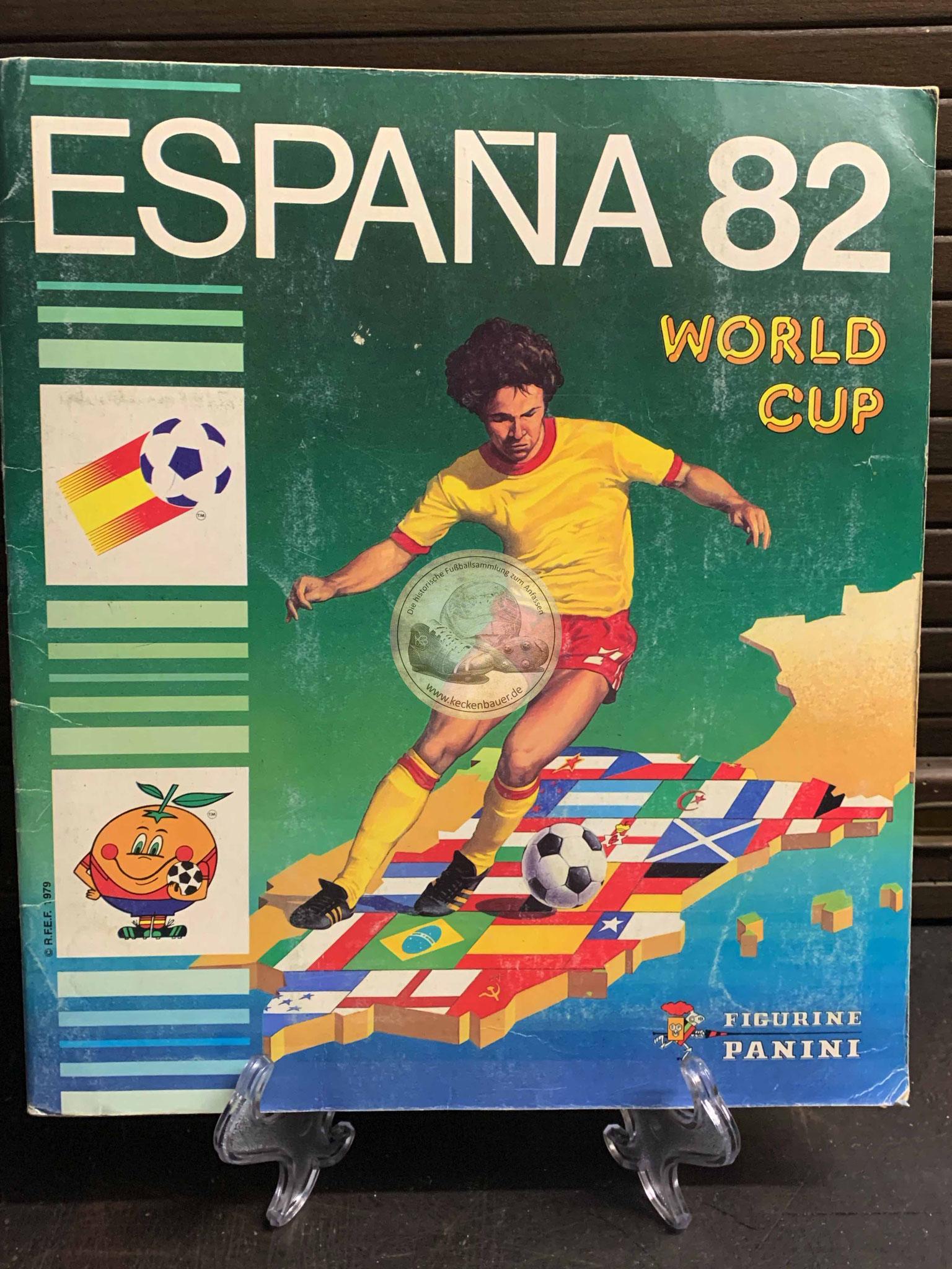 Panini Album von der WM 1982 in Spanien