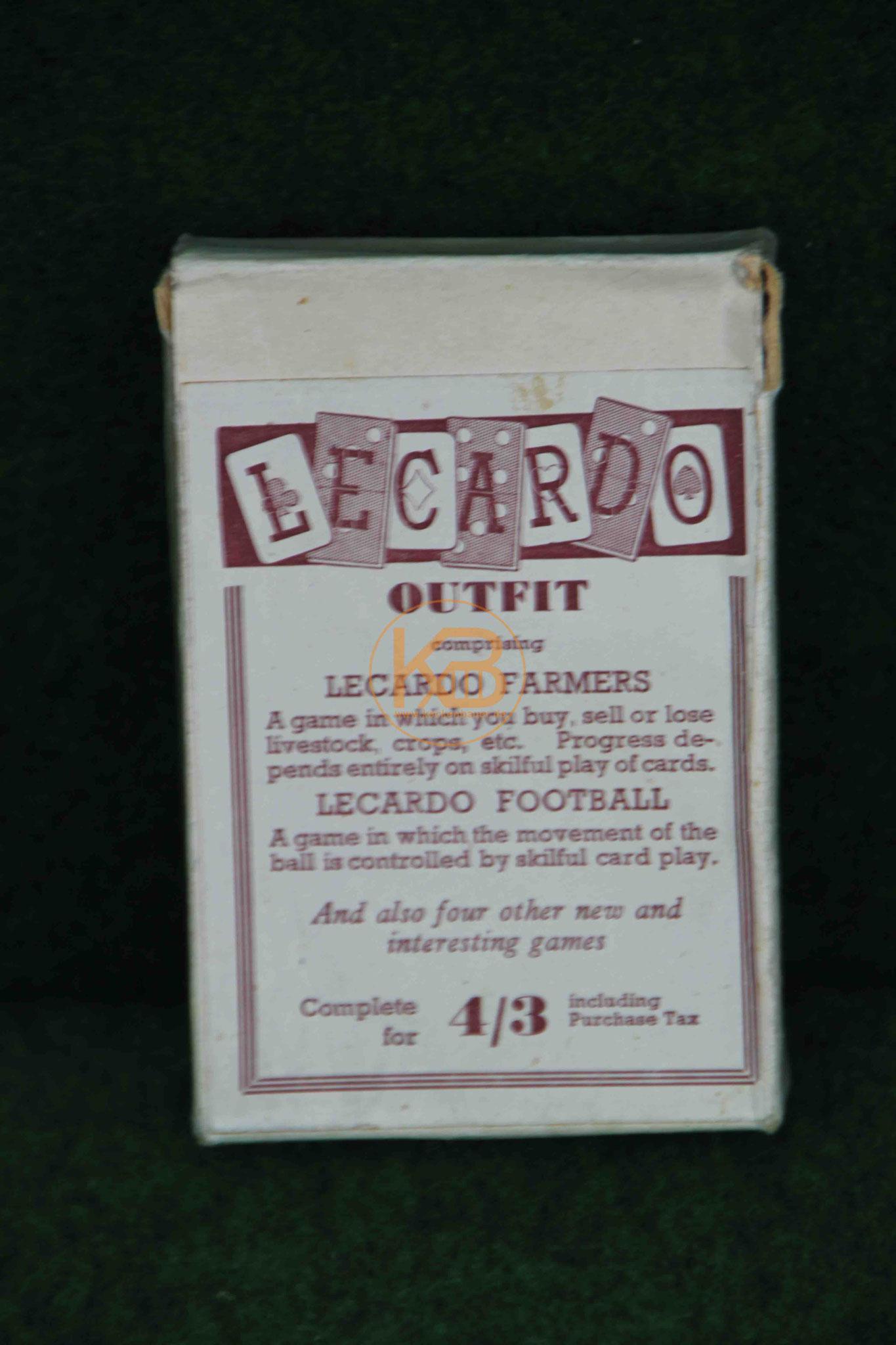 Englischen Kartenspiel eCardo - Farmers und Football