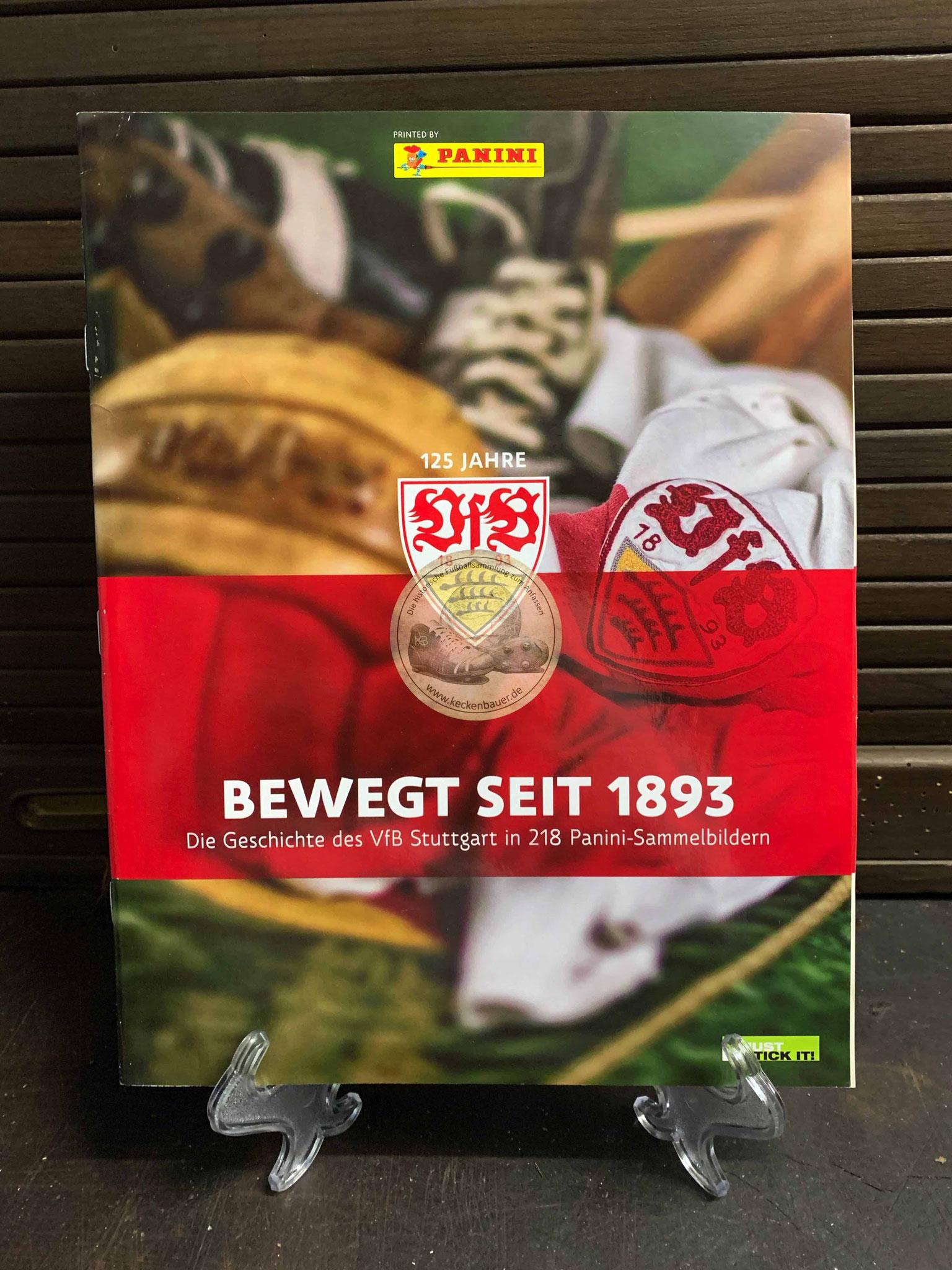 Panini VfB Stuttgart 125 Jahre Album