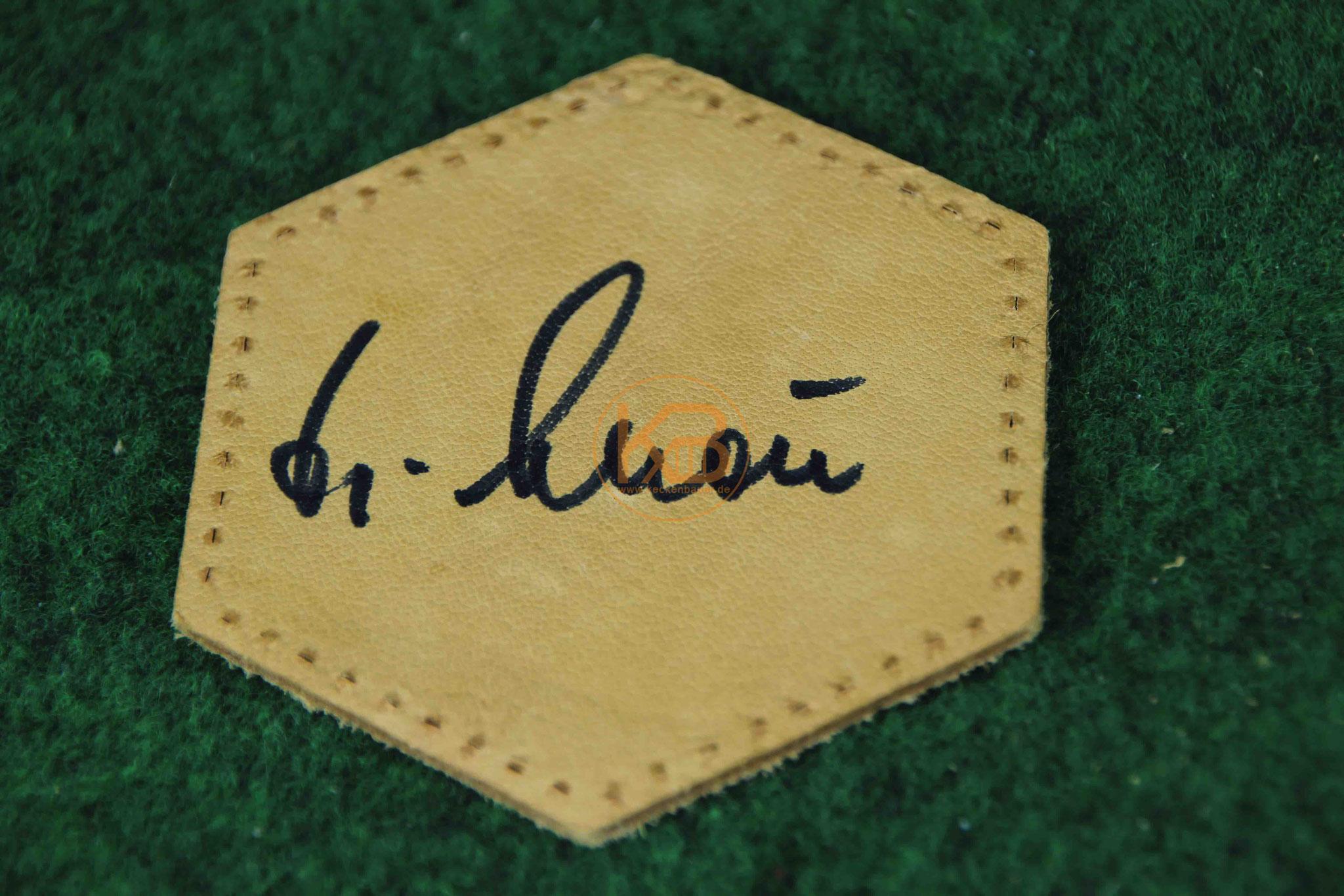 Original Autogramm von Helmut Schön