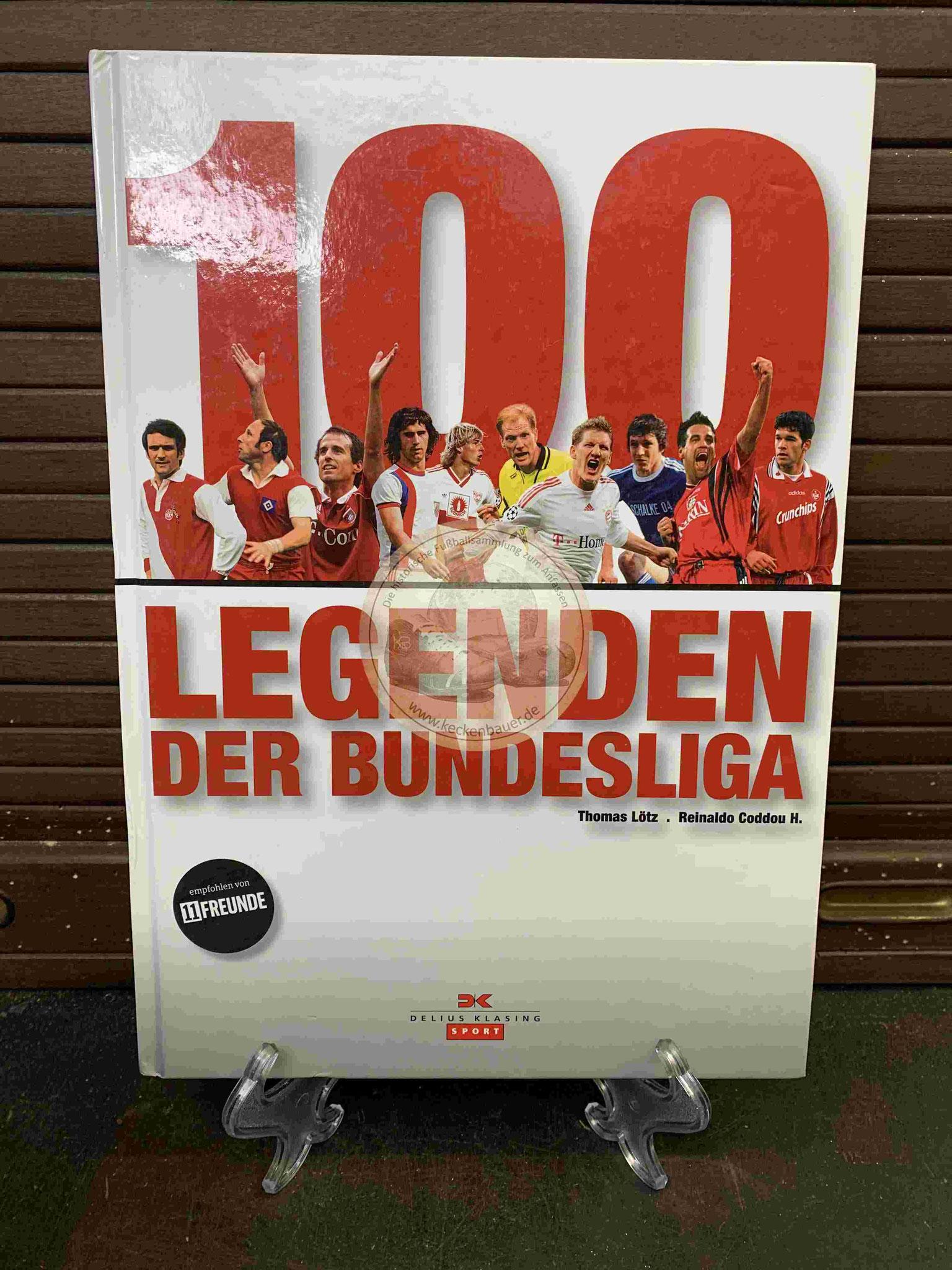 100 Legenden der Bundesliga aus dem Jahr 2009