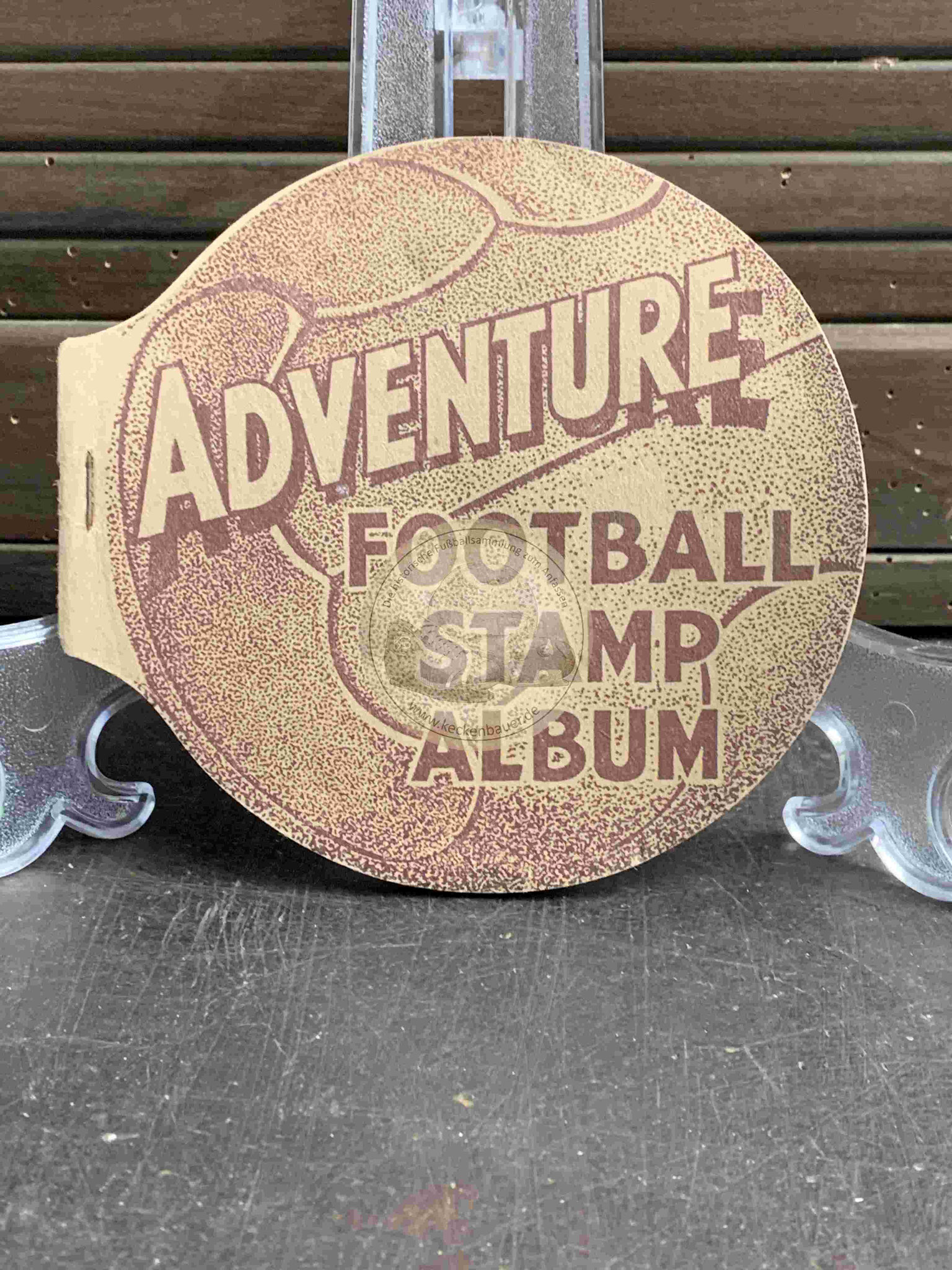 1930 Adventure Football Stamp Album