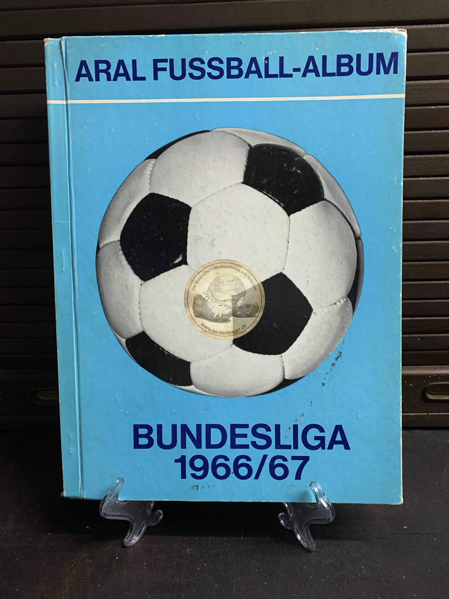 ARAL Fußball-Album Bundesliga 1966/67, natürlich vollständig.