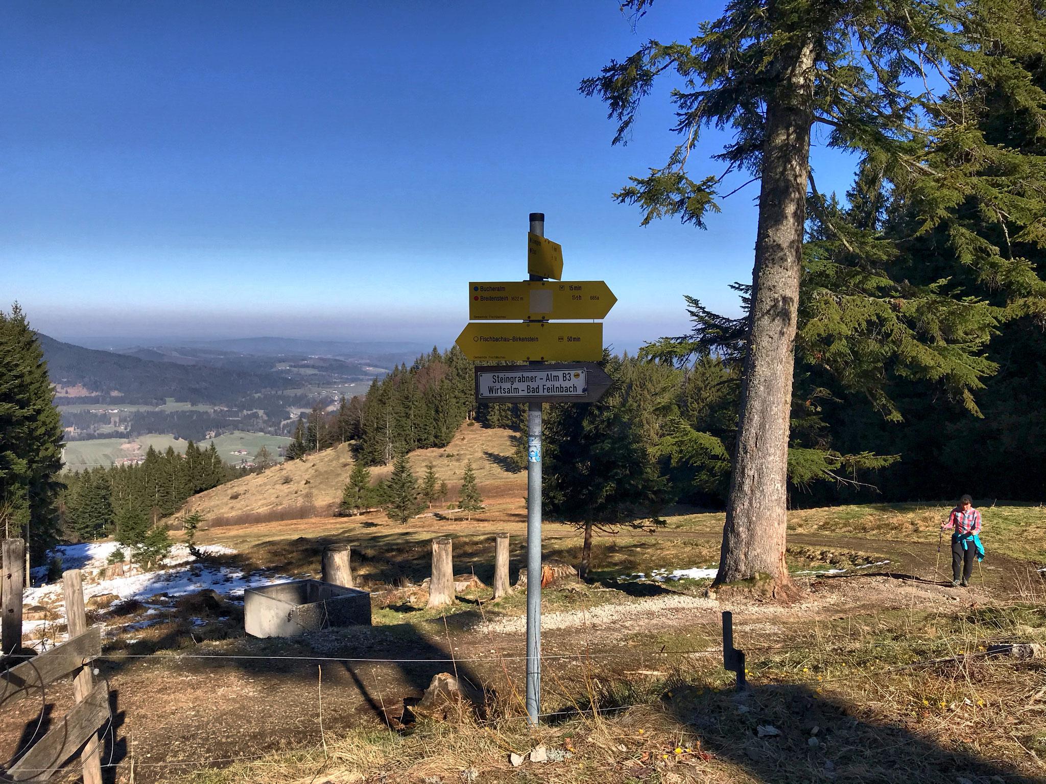 Etappe W08: Elbach - Jenbachtal - Bad Feilnbach
