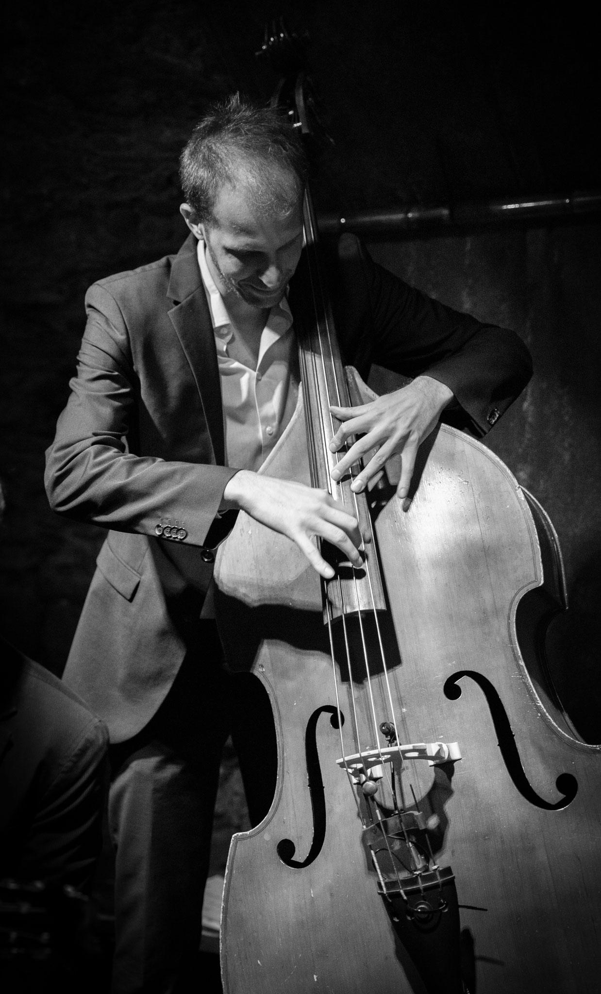 Mit dem Jazz Trio Collective, Zürich 2018