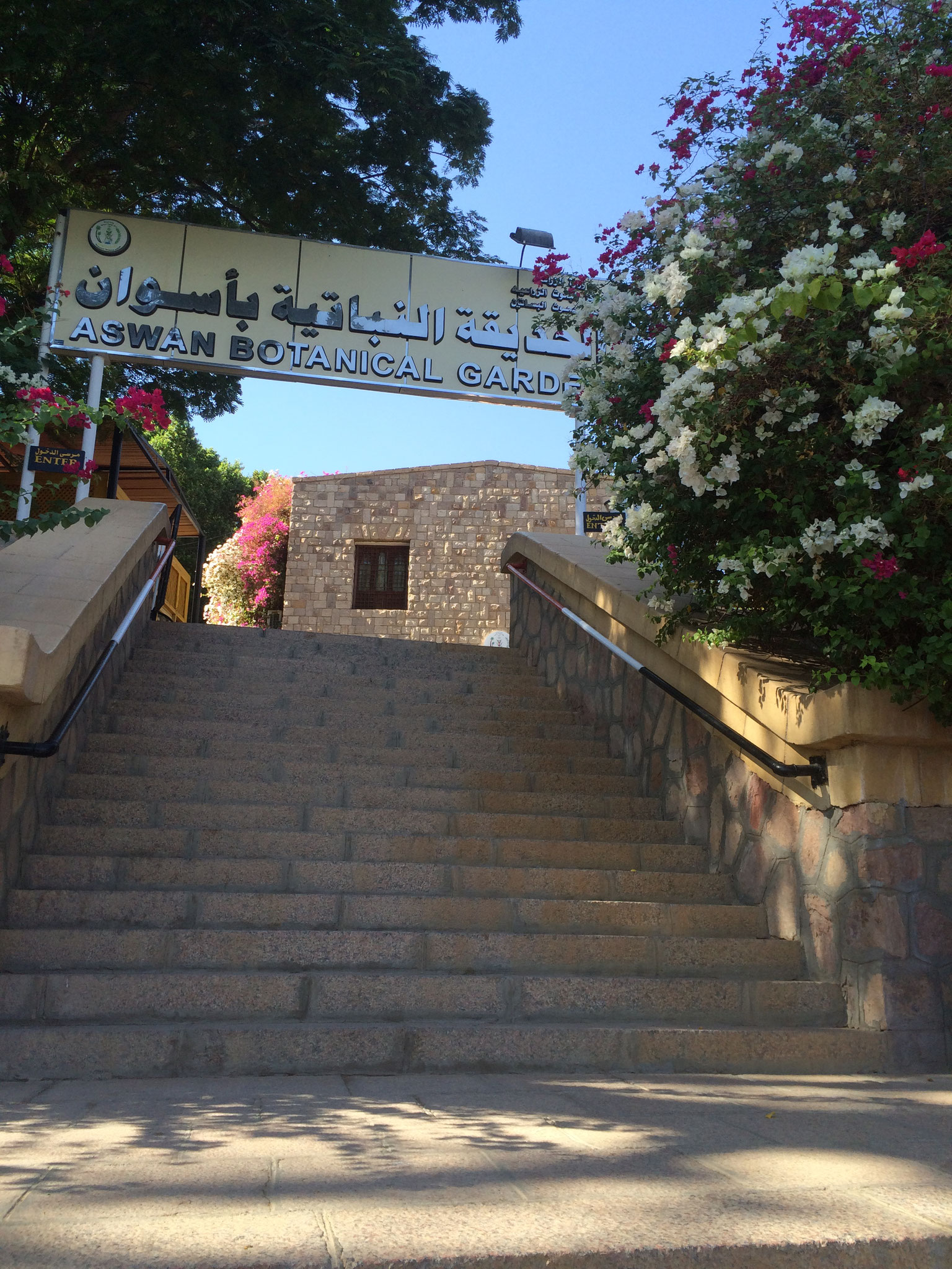 Botanical Garden in Aswan