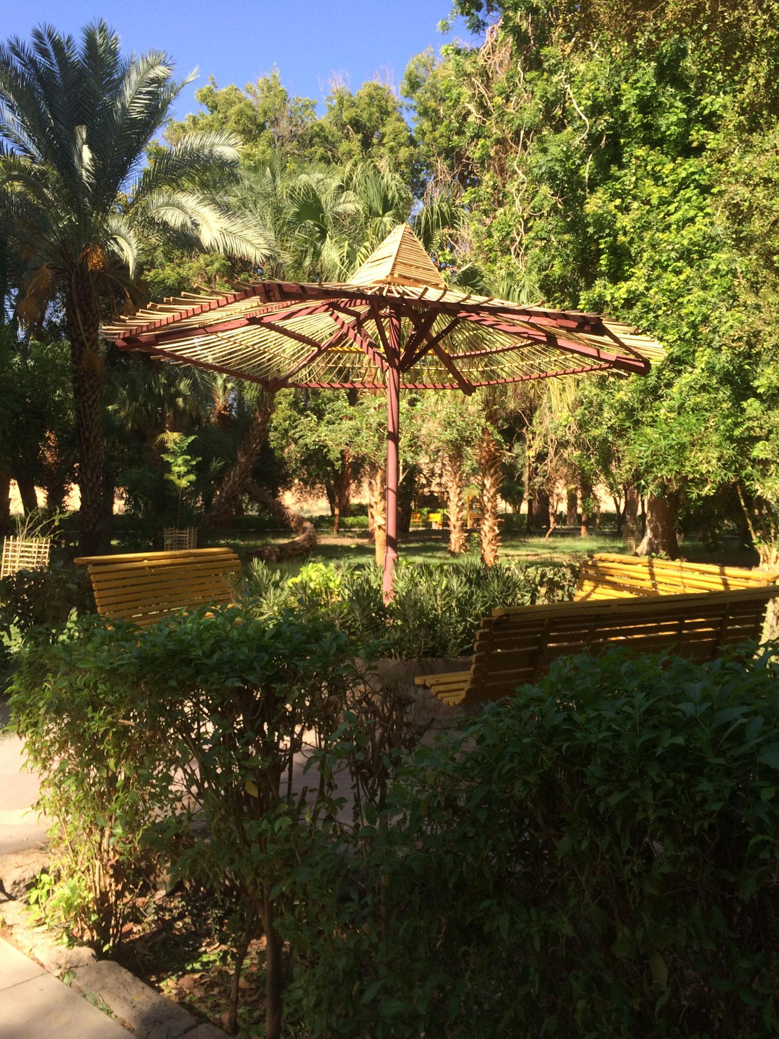 Botanical Garden in Aswan