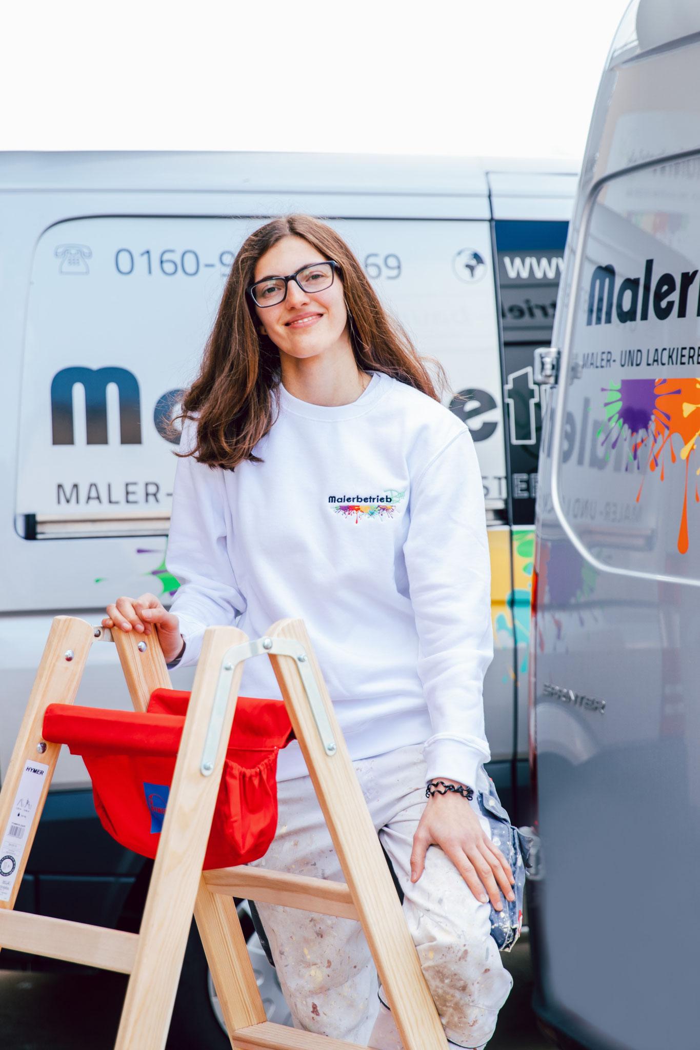 Julia Metzger  I  Maler- und Lackierergesellin seit 2020