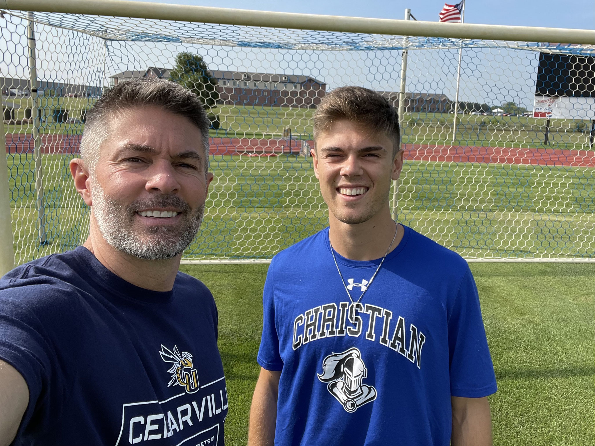 With Jake at Cedarville