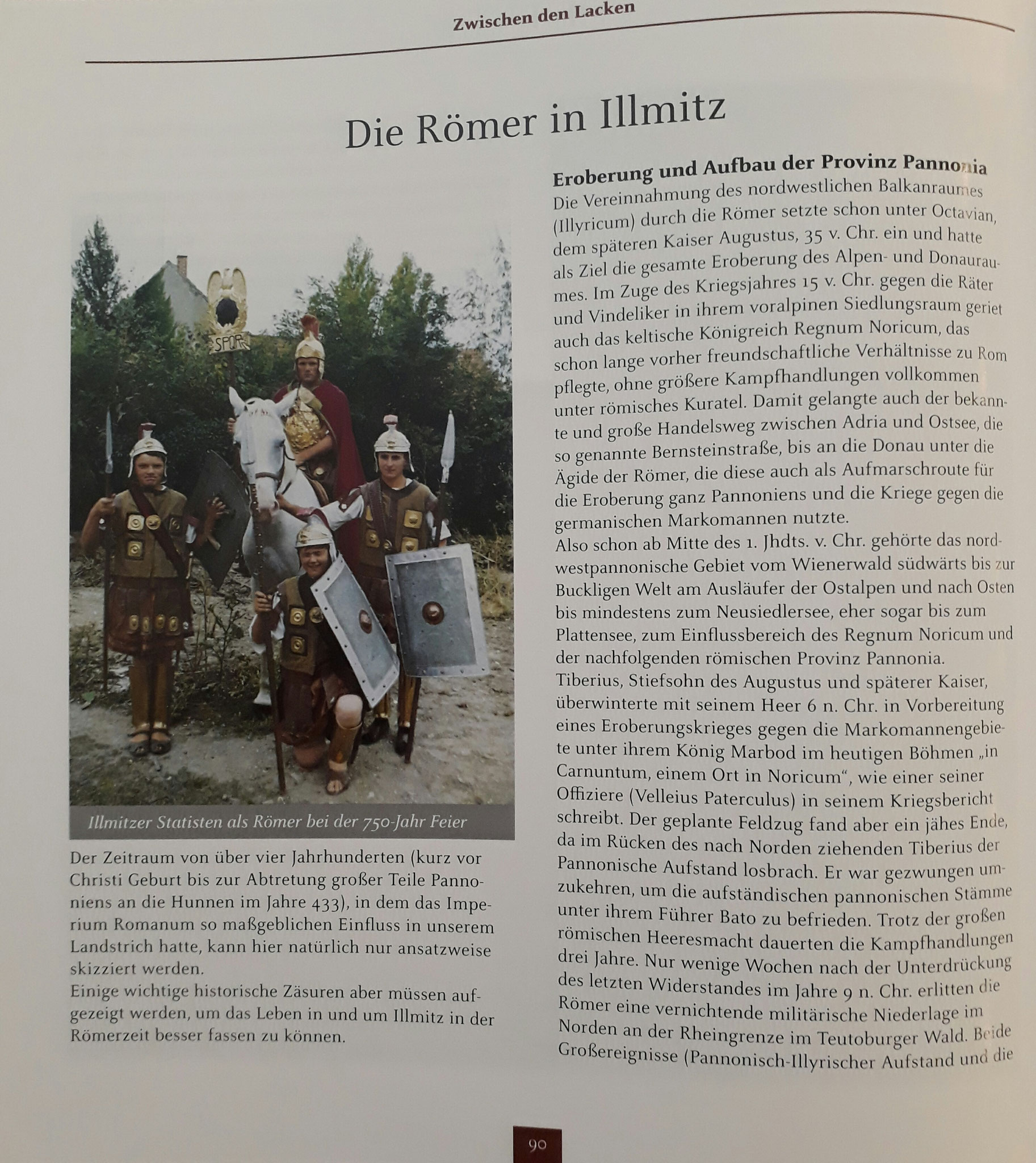 Römer in Illmitz