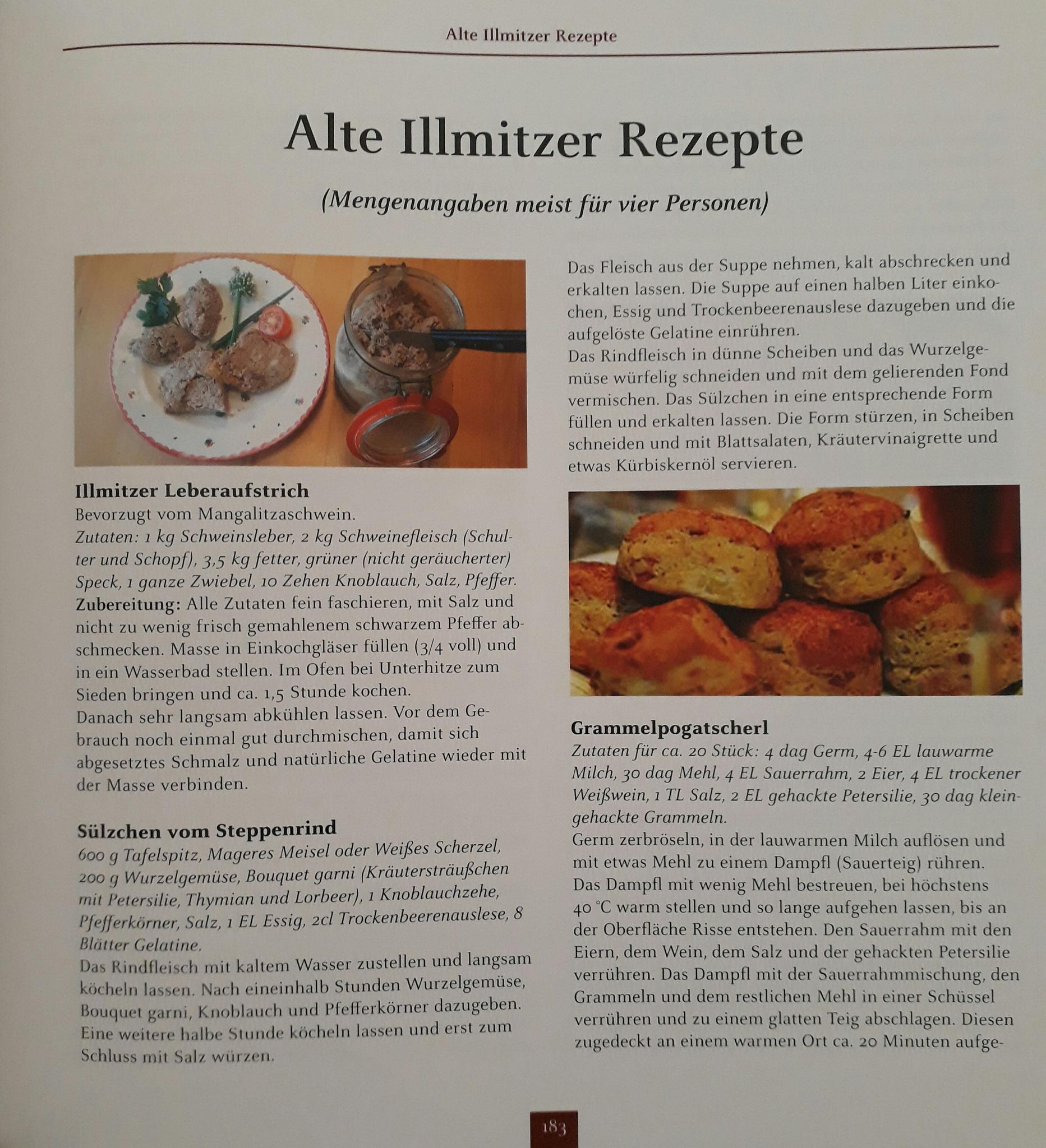 Illmitzer Rezepte