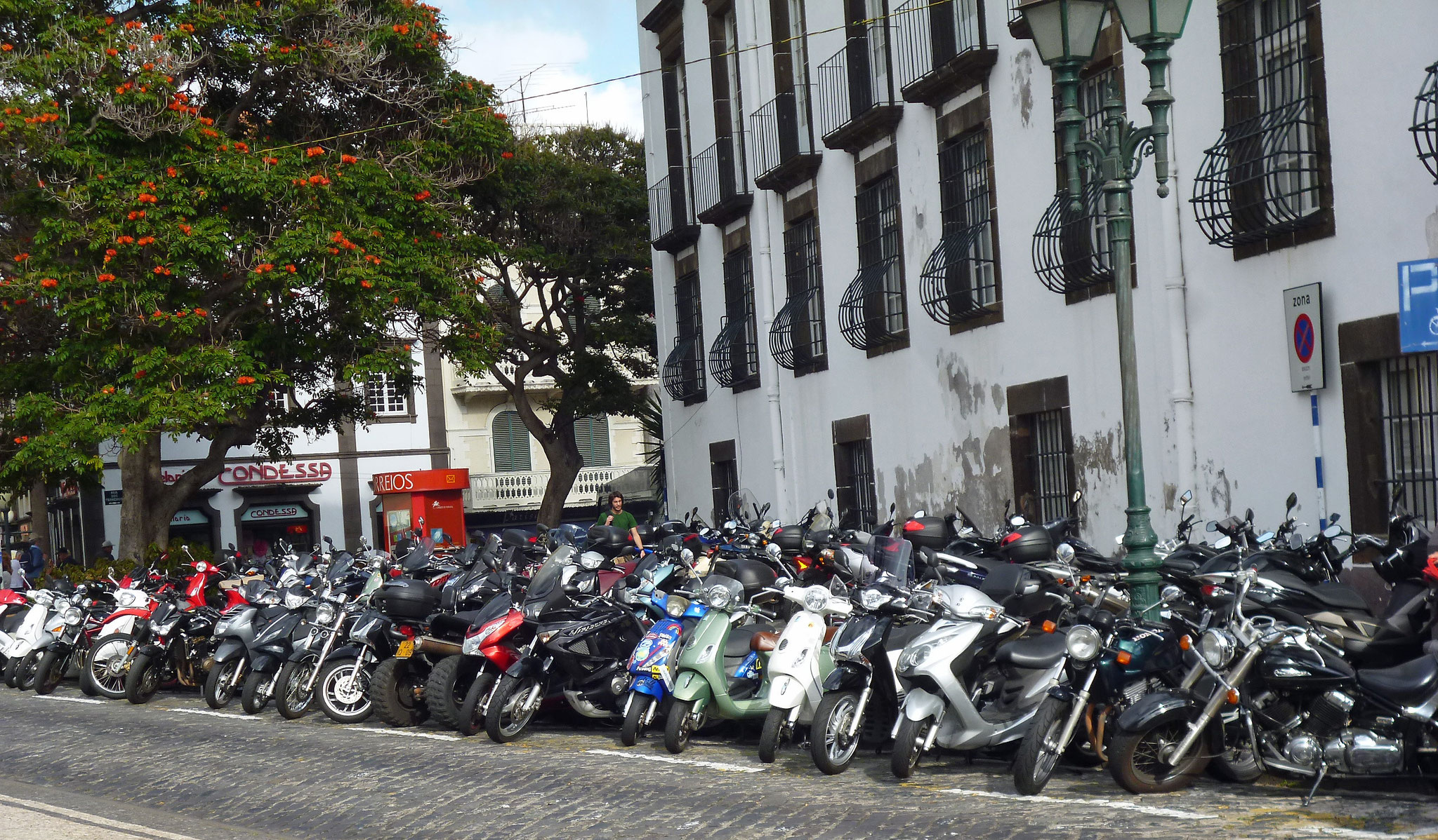 Bild 43 In den Straßen von Funchal