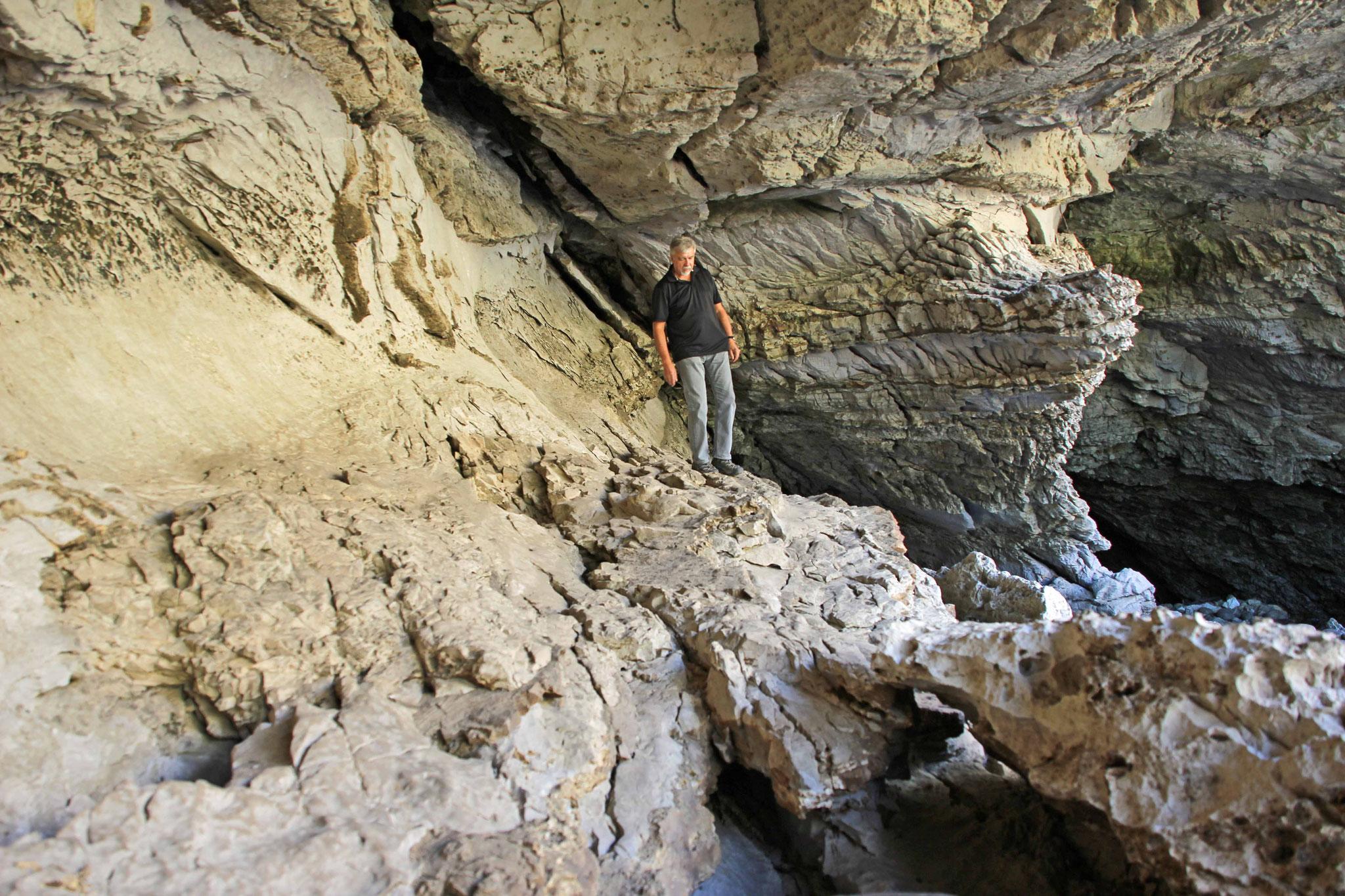 Bild 20 Am Sinks Canyon, wo das Flüßchen in einer Höhle verschwindet