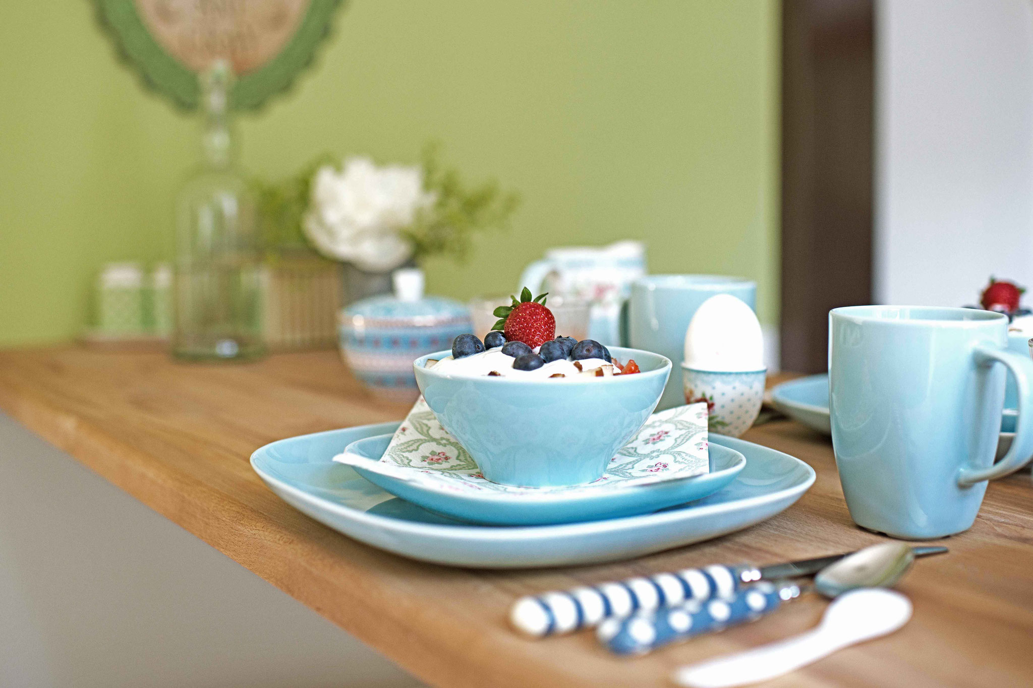gemütliches Frühstückszimmer