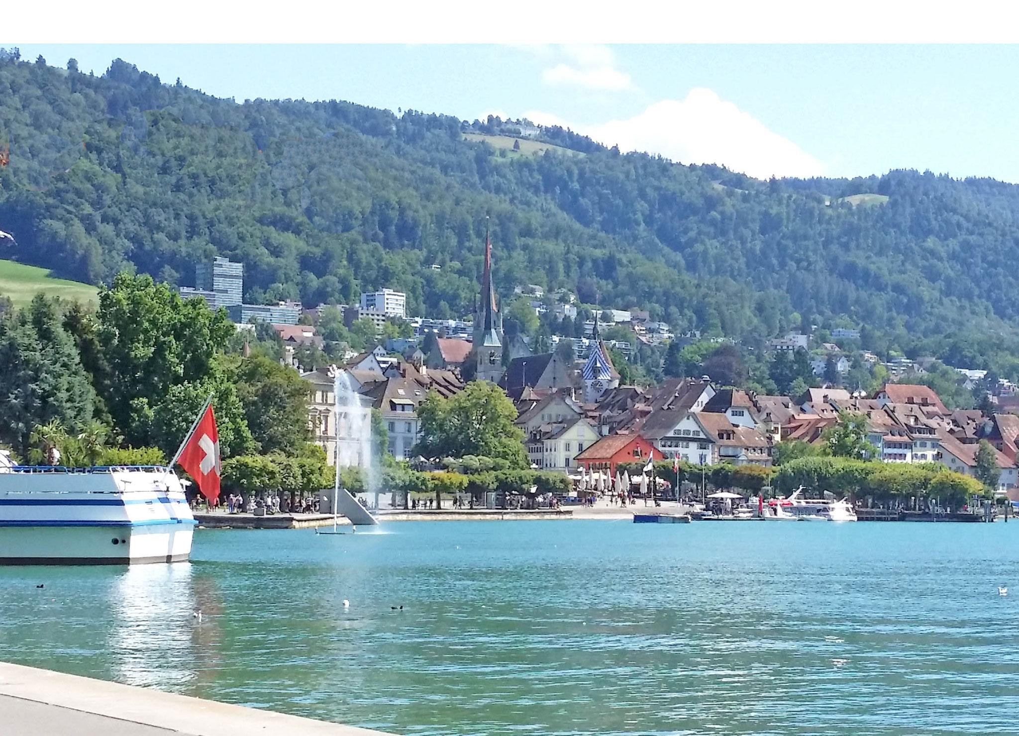 Seepromenade und Altstadt
