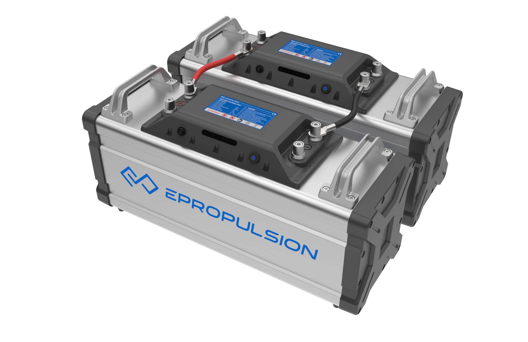 Epropulsion Lithium Batterie Reihenschaltung