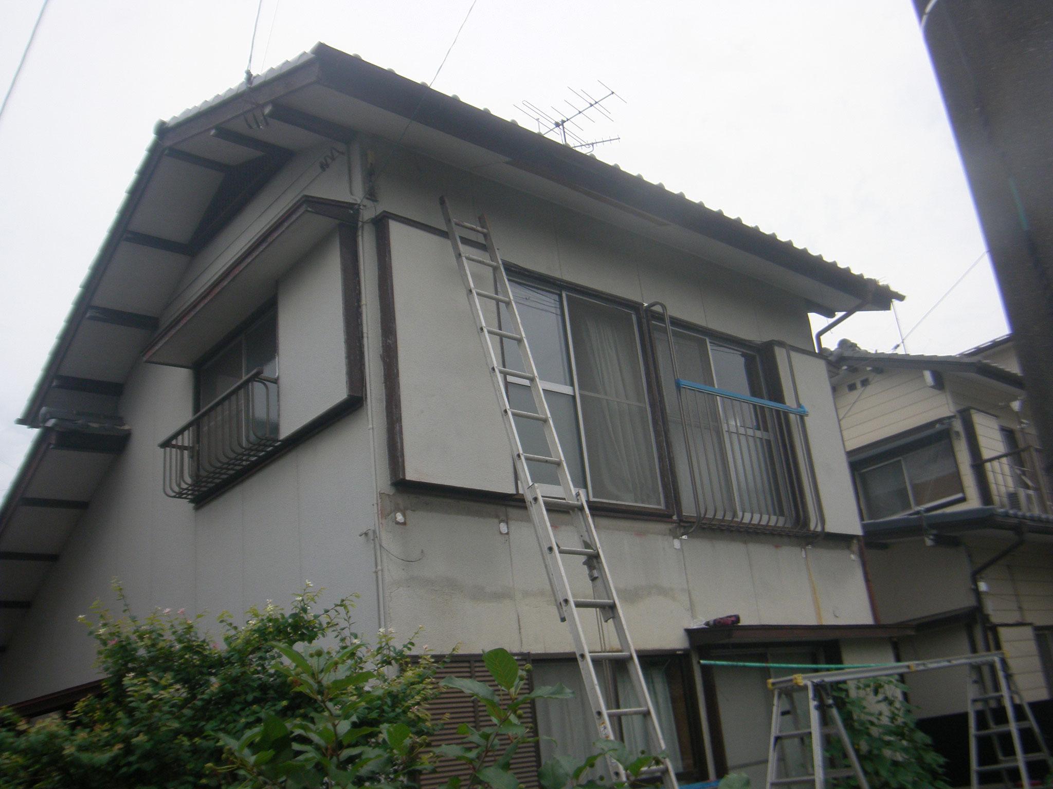 バルコニー改修工事:工程写真