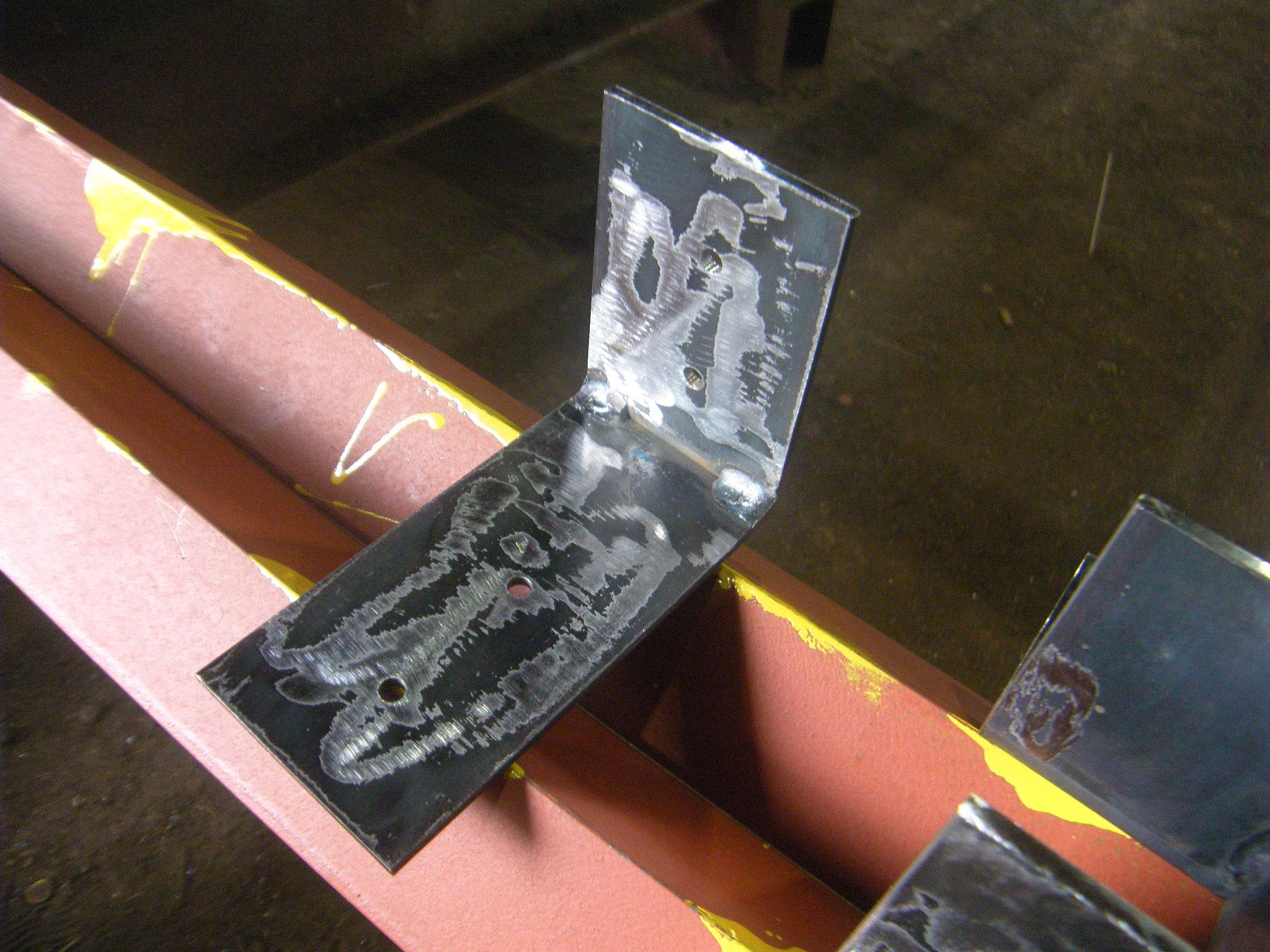 階段手摺補修補強工事:工程写真
