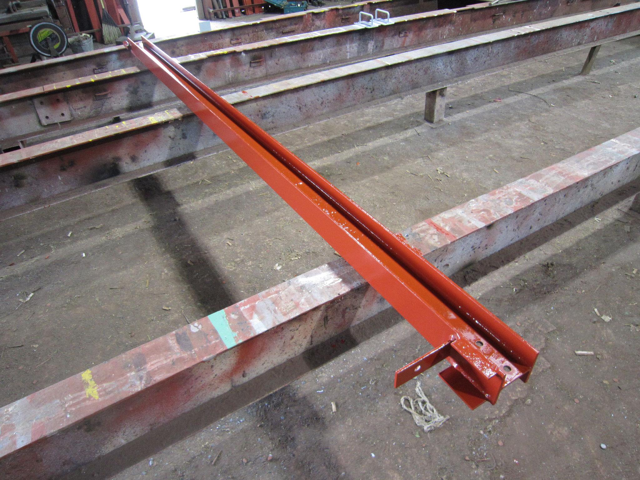 クレーンレール増長工事:工程写真