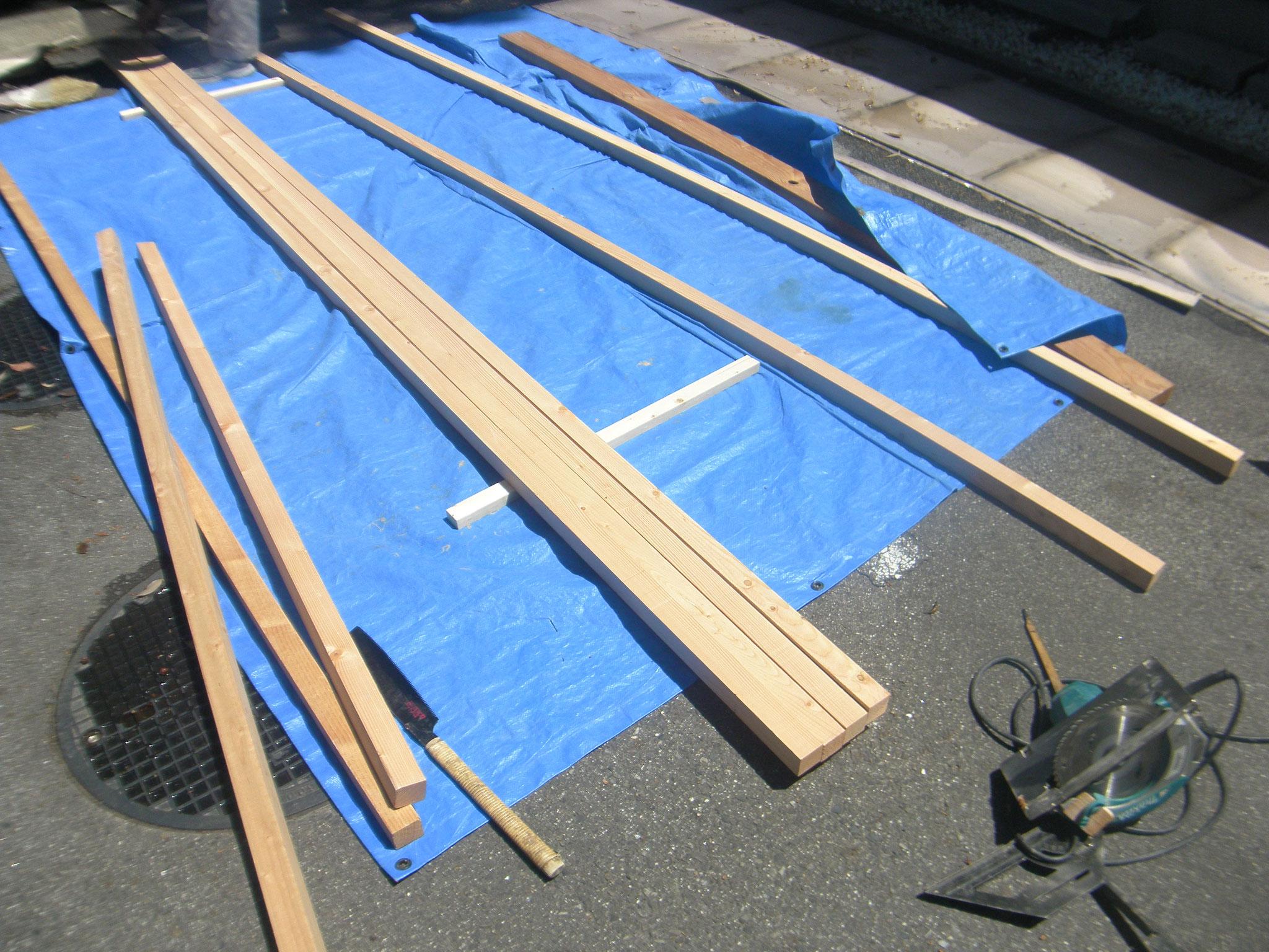 立て看板移設工事:工程写真