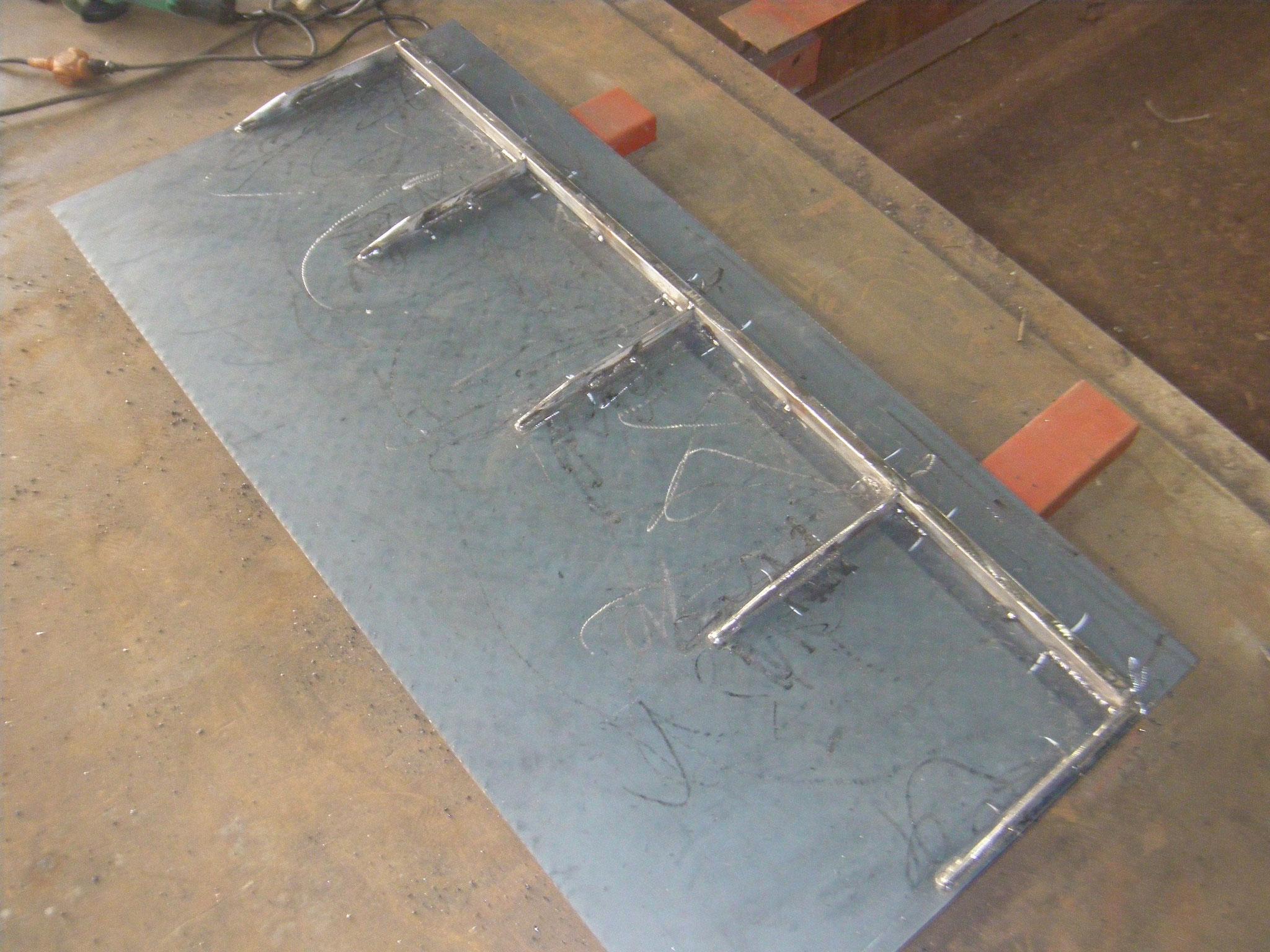工場内段差スロープ:工程写真