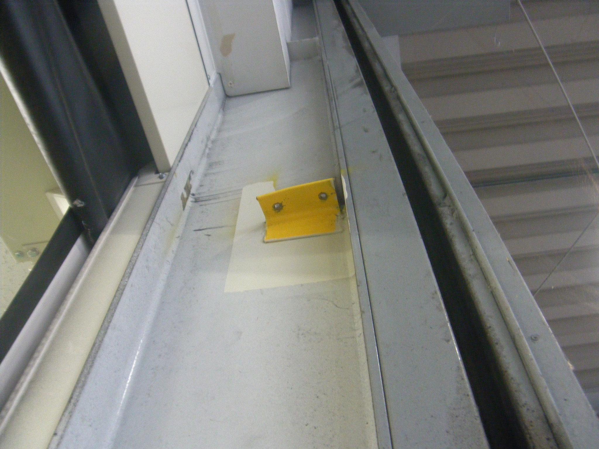 シャッター保護パイプ:工程写真