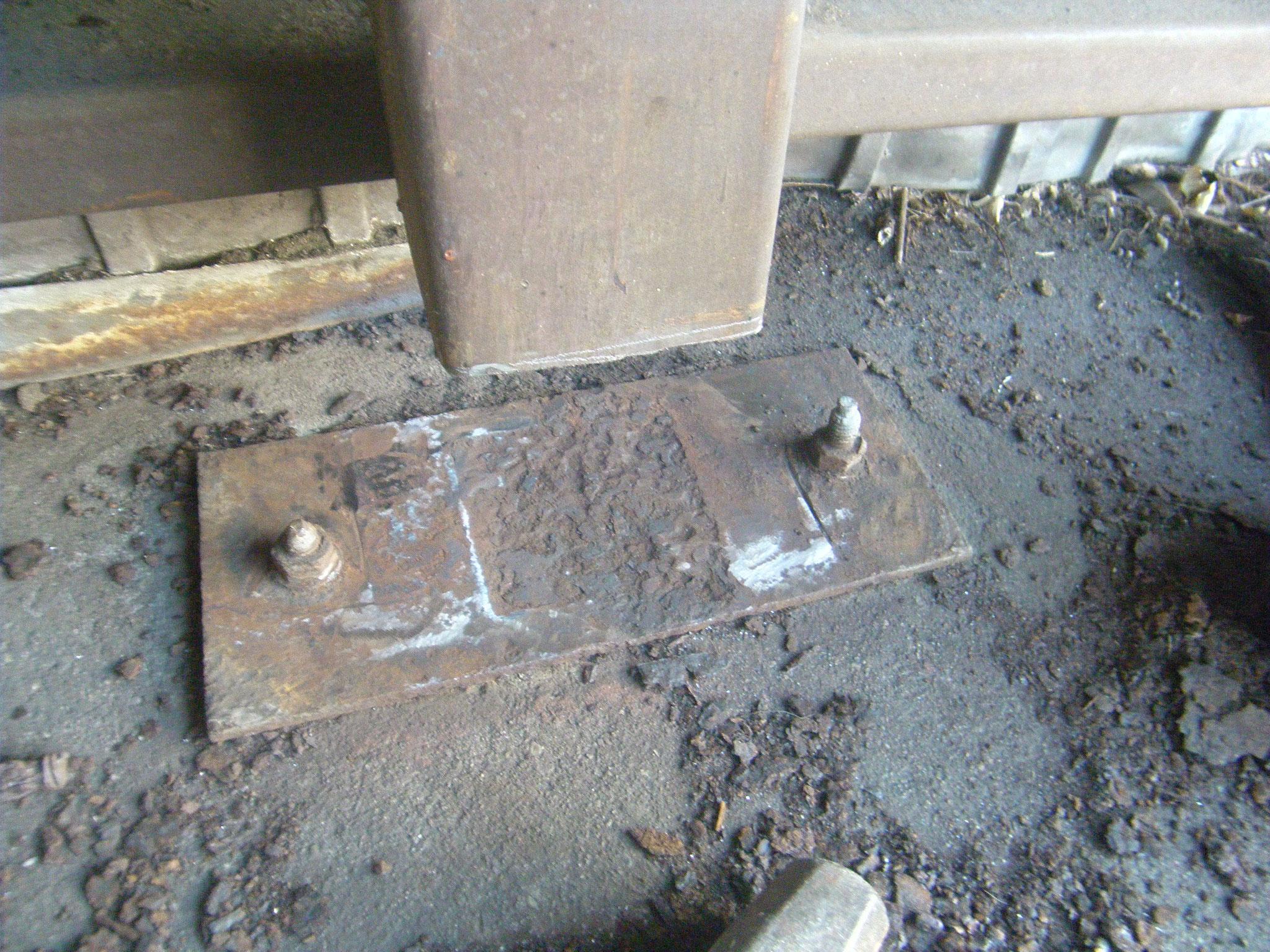 柱脚補修工事:工程写真