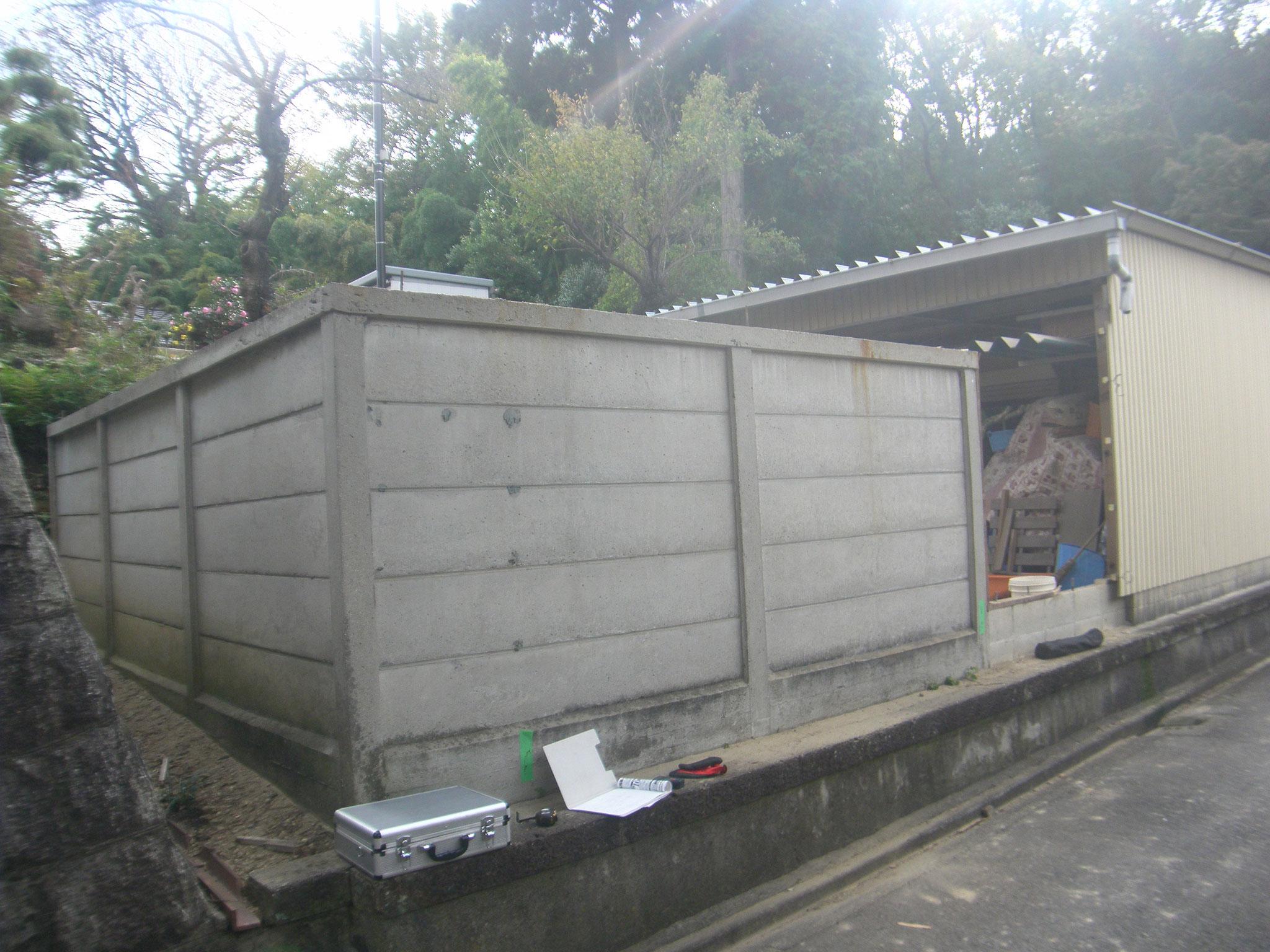 ガレージ改修工事:工程写真