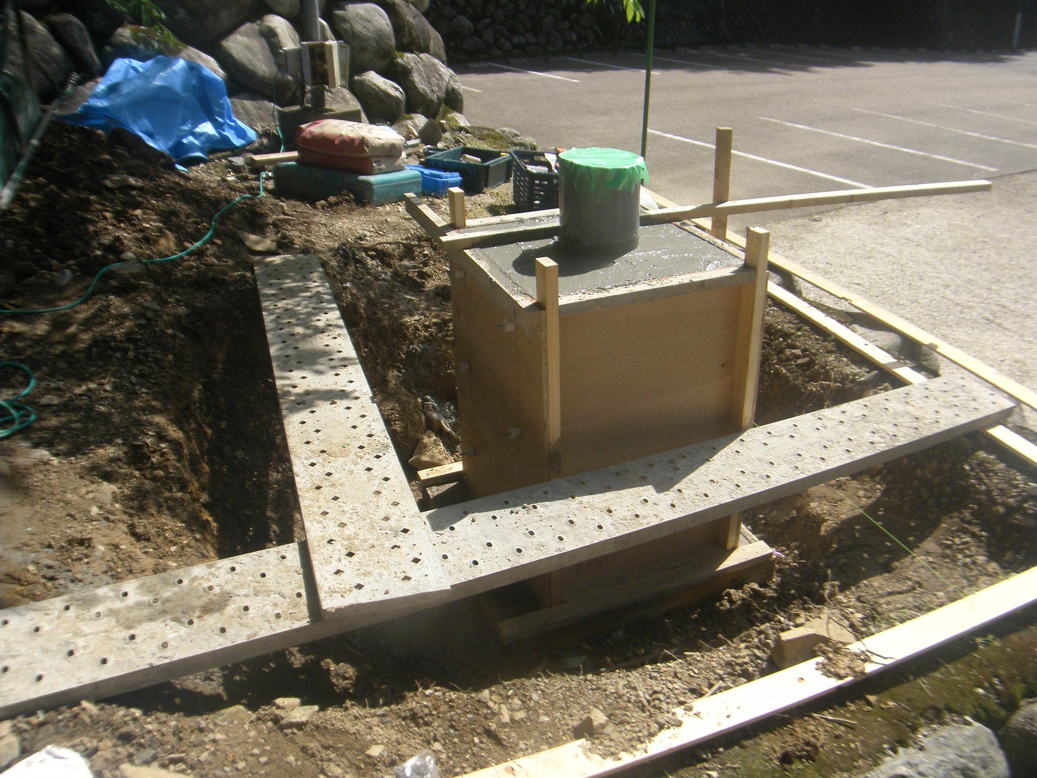 フラッグポール新設工事:工程写真