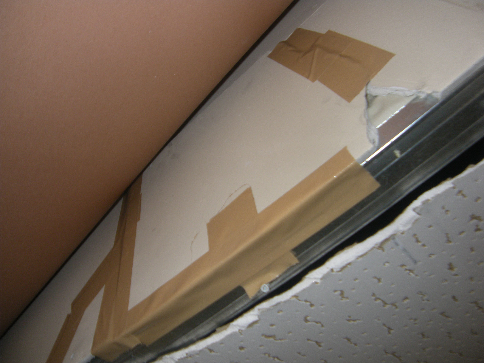 内装破損部改修工事:工程写真